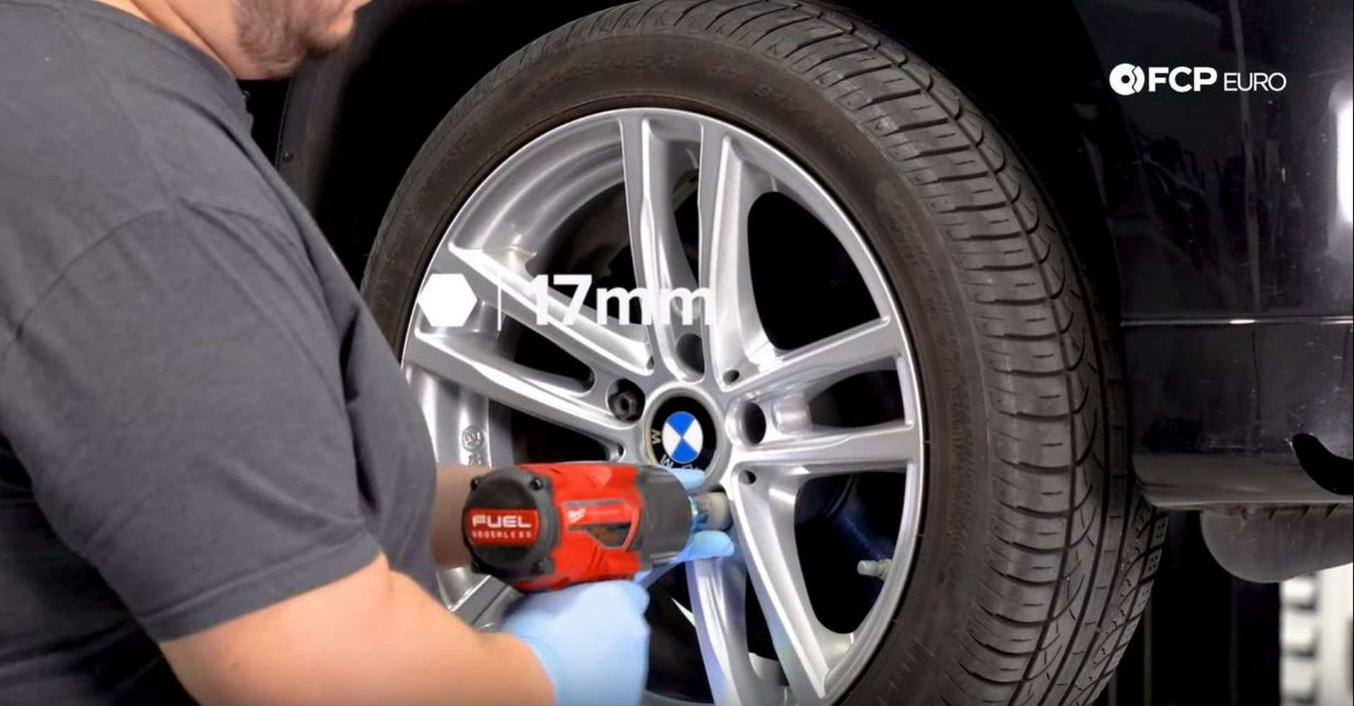 BMW Front Suspension Refresh wheel removal