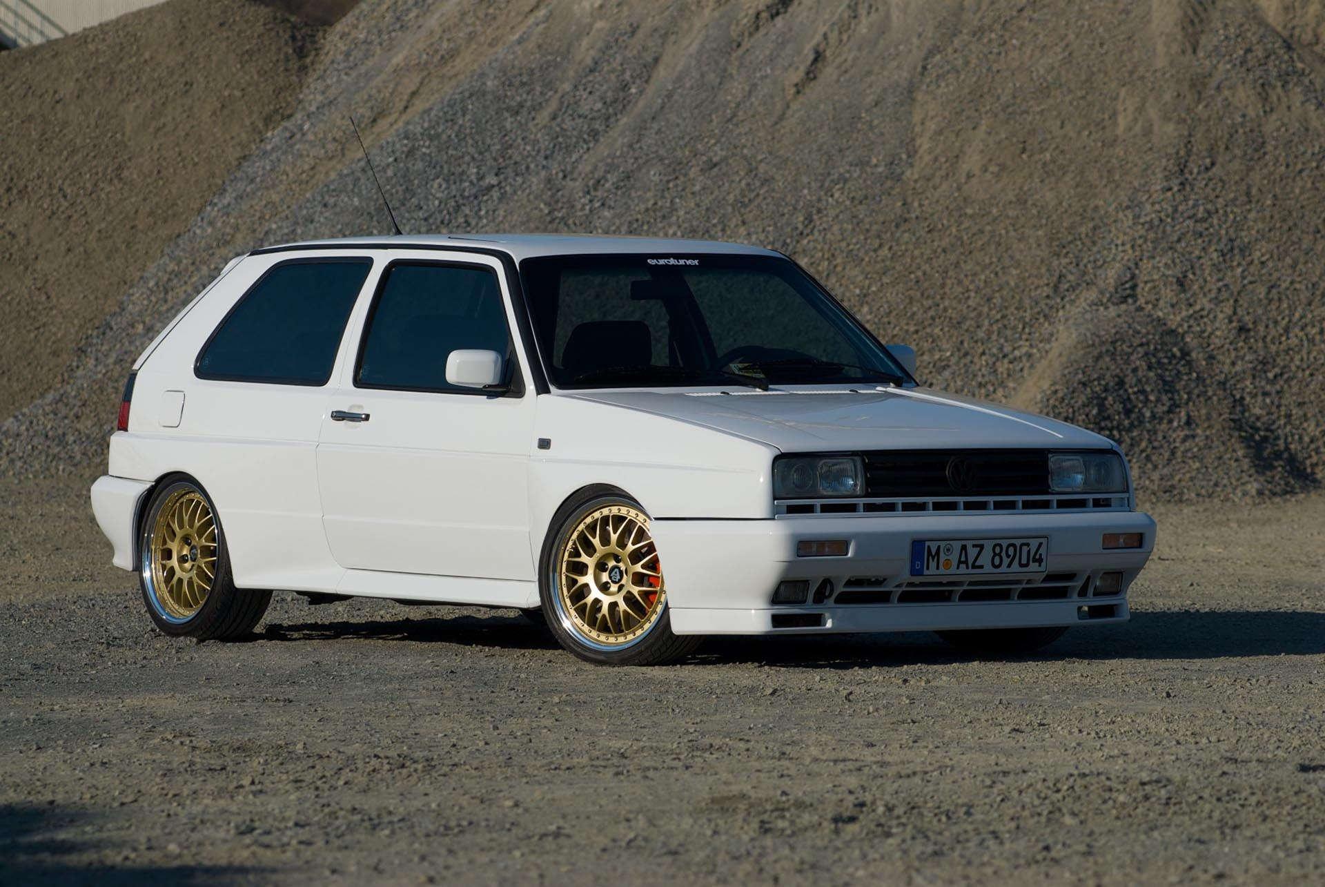 Volkswagen Mk2 Golf Rallye 24v VR6 White Front
