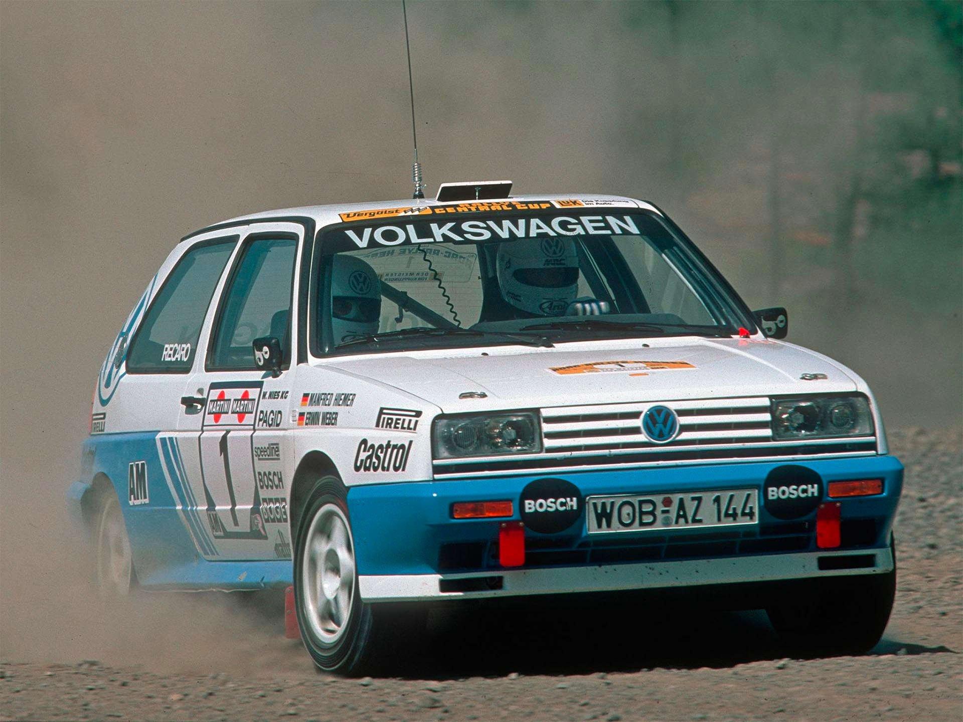Volkswagen Mk2 Rallye Golf Group A motorsport