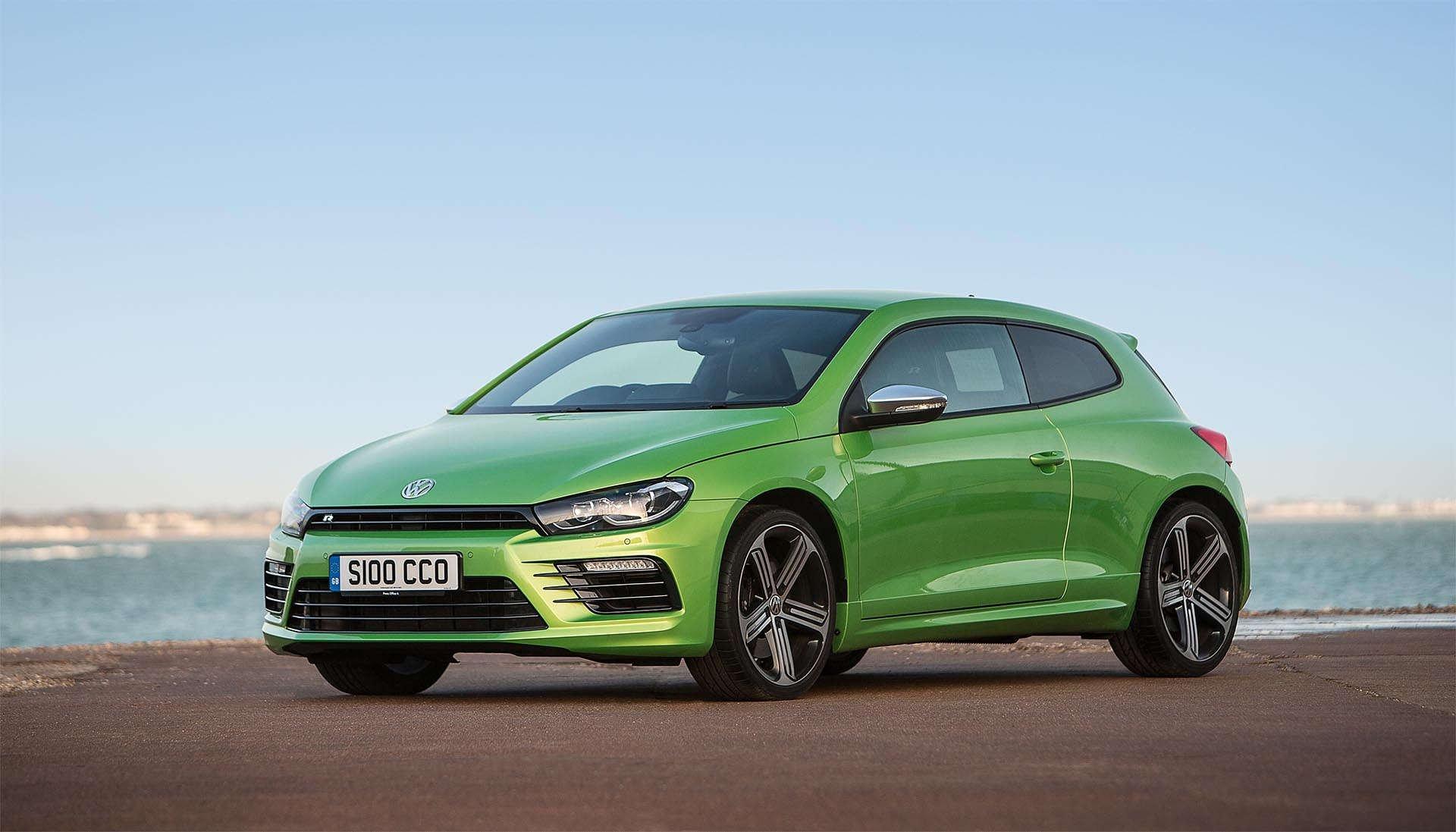 Volkswagen Mk3 Scirocco R Green front