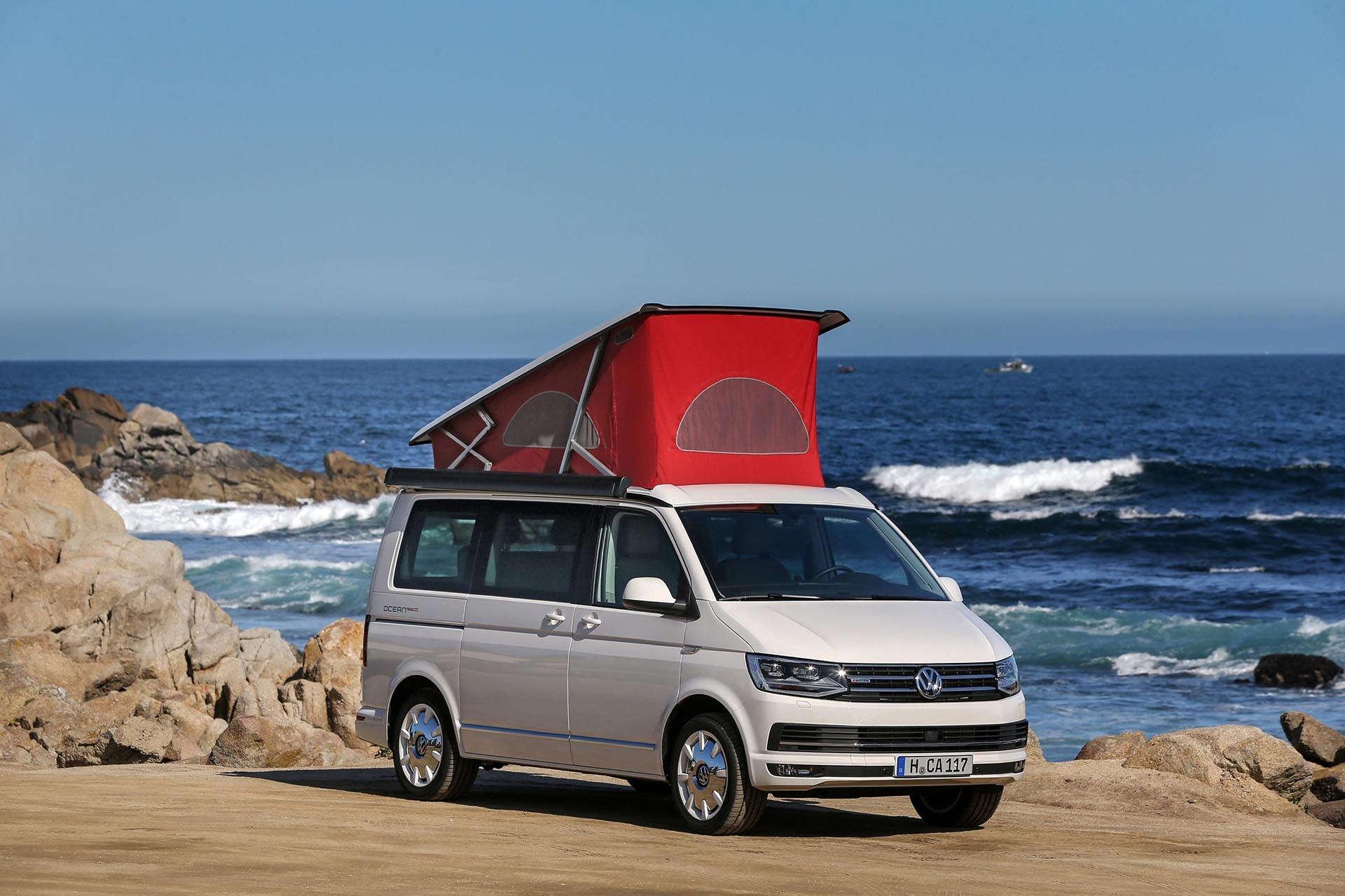 Volkswagen California 6.1 Camper Van top up
