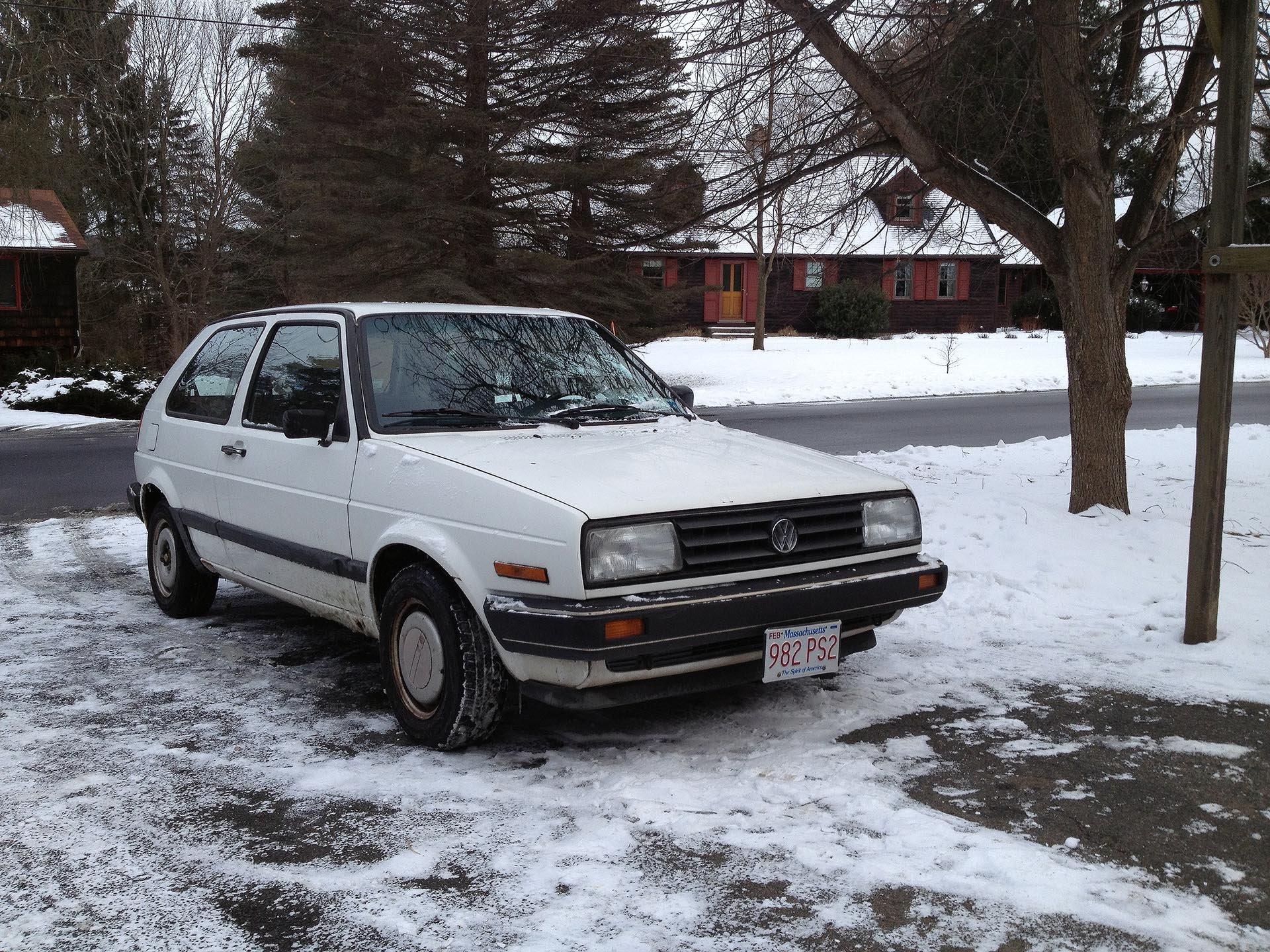 Original Alpine White 1989 Golf 41k miles