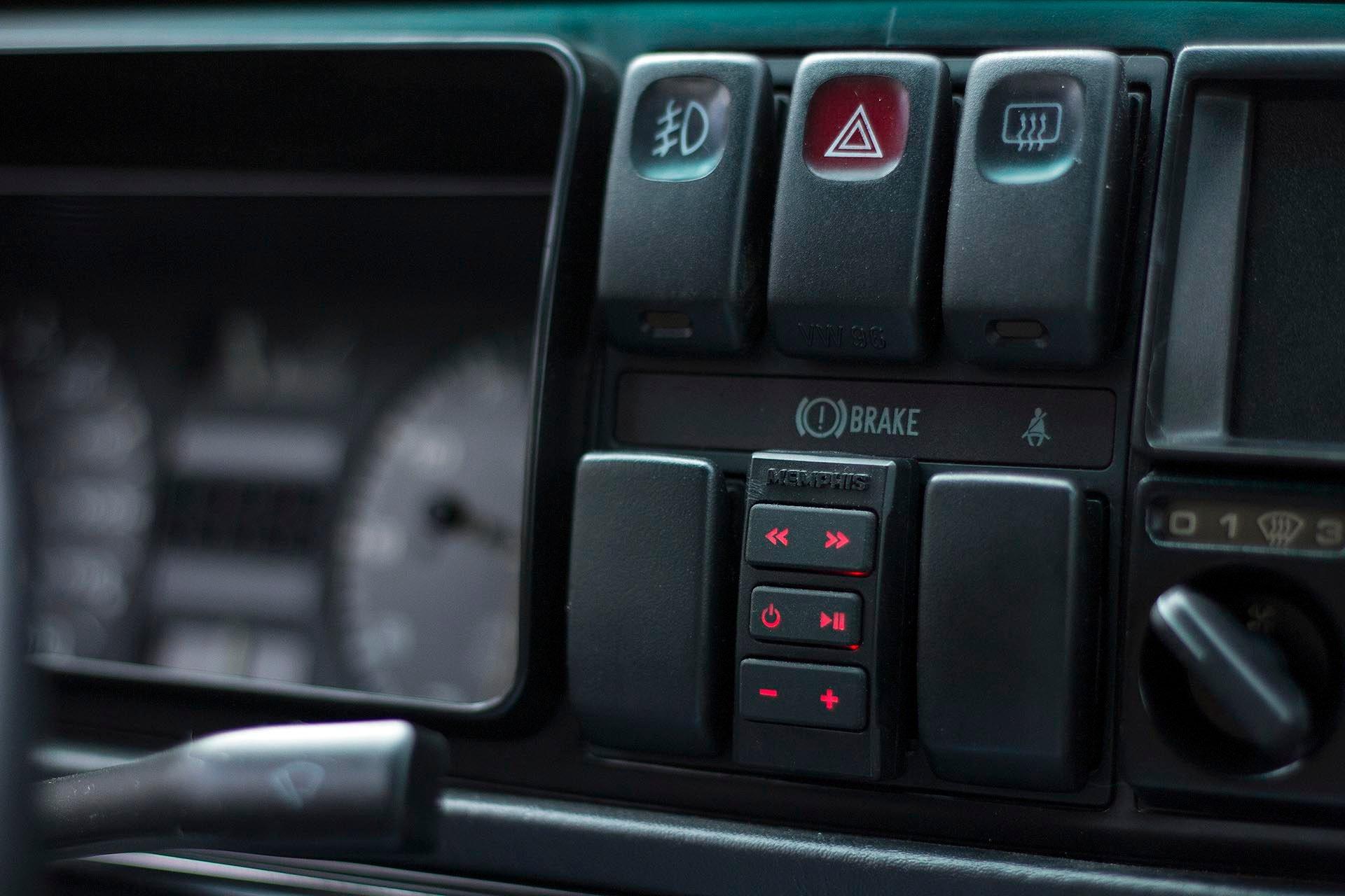 VW Mk2 custom Memphis audio switches