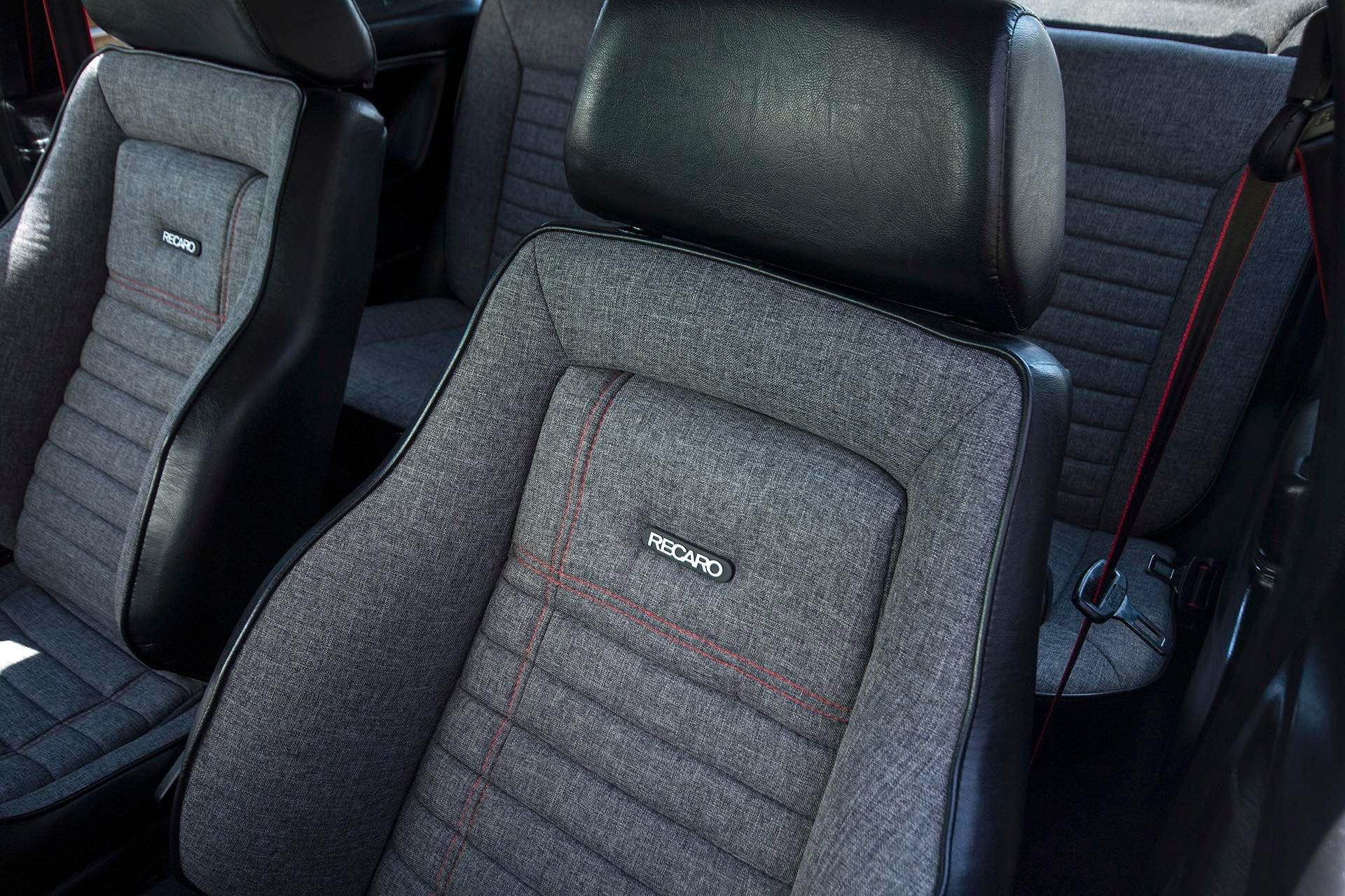 VW Mk2 Recaro Trophy custom seats