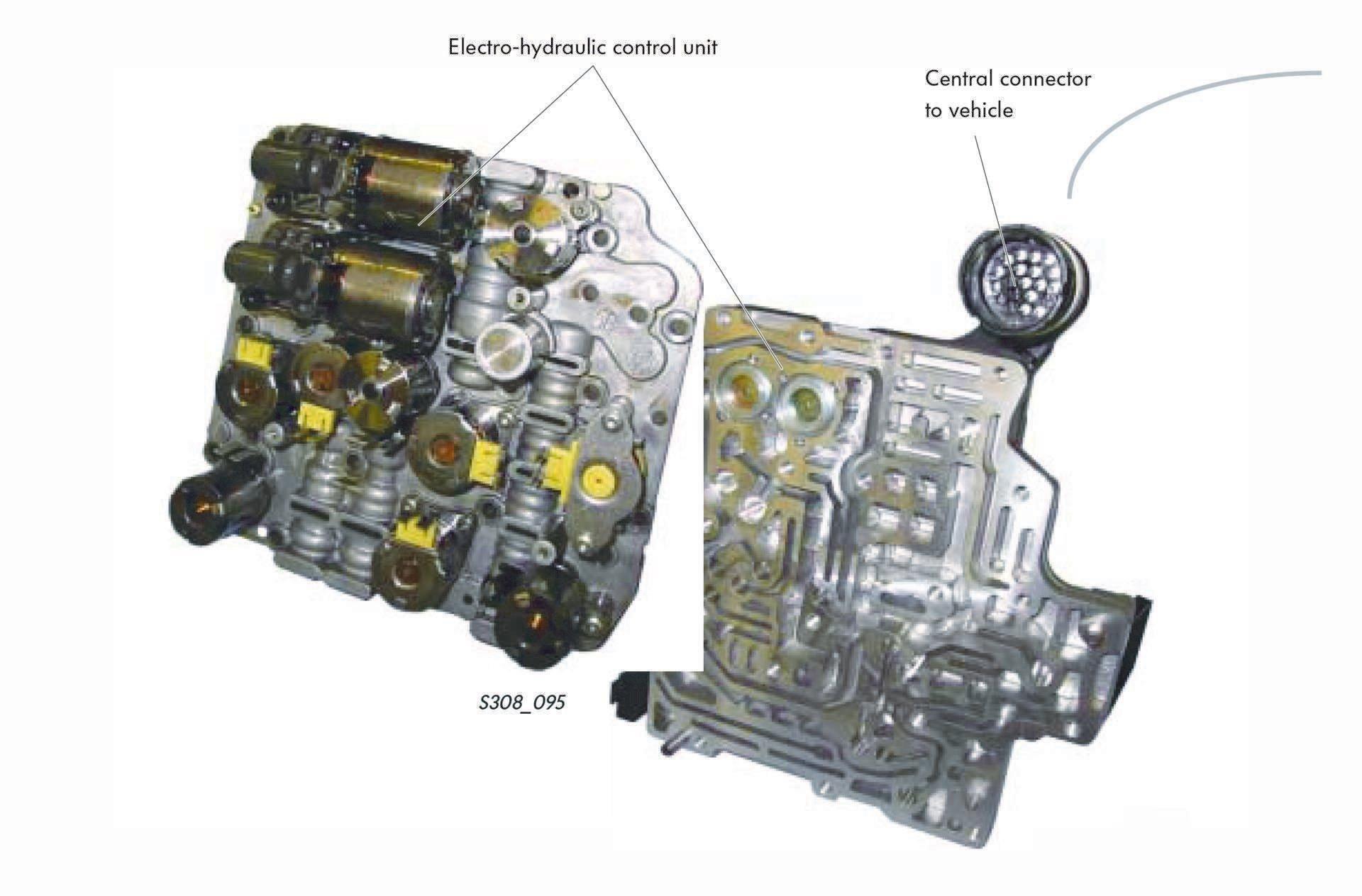05_VW Audi DSG S Tronic Mechatronic unit