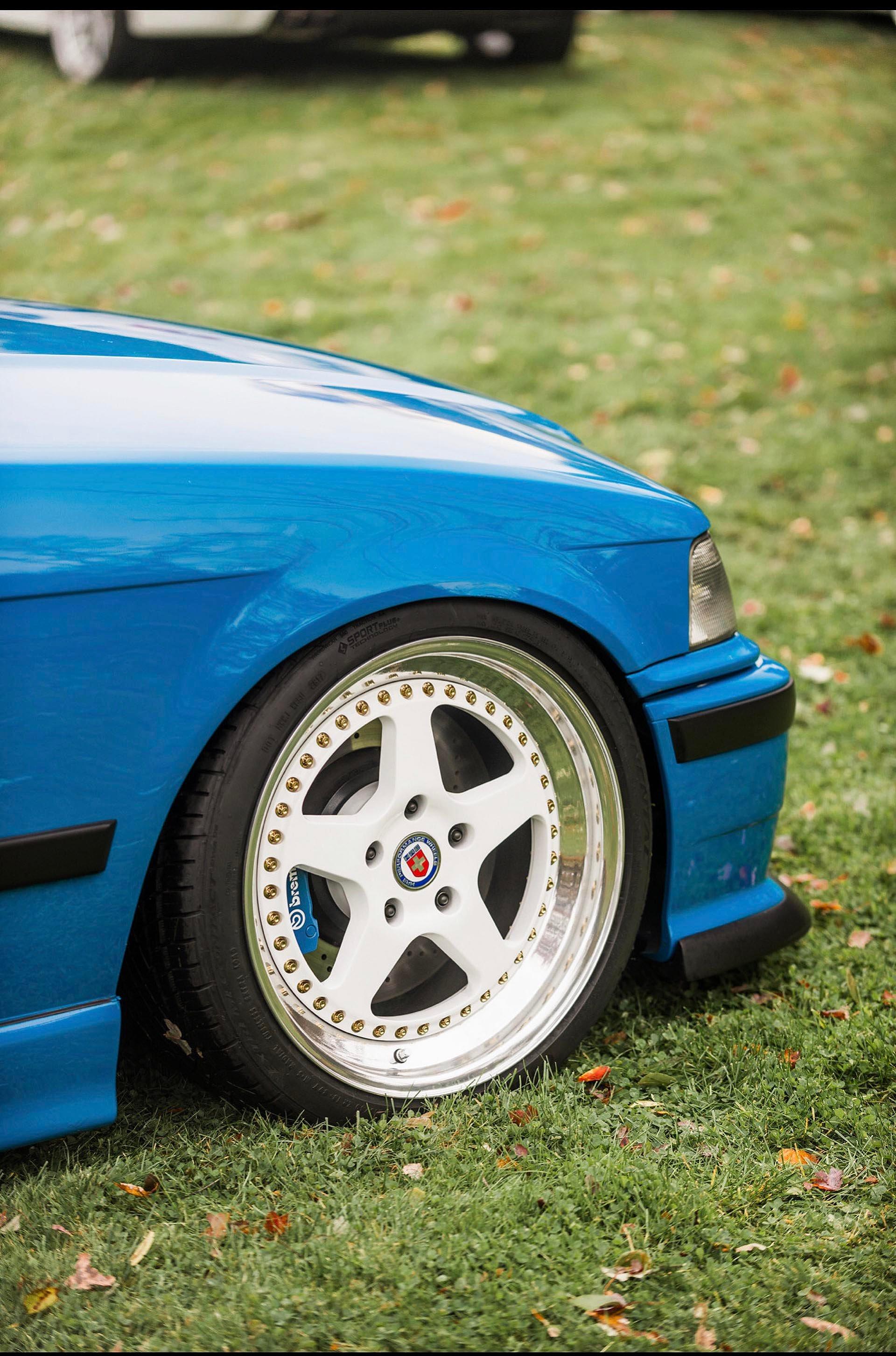 HRE 526 Laguna Seca Blue E36 M3 Clone