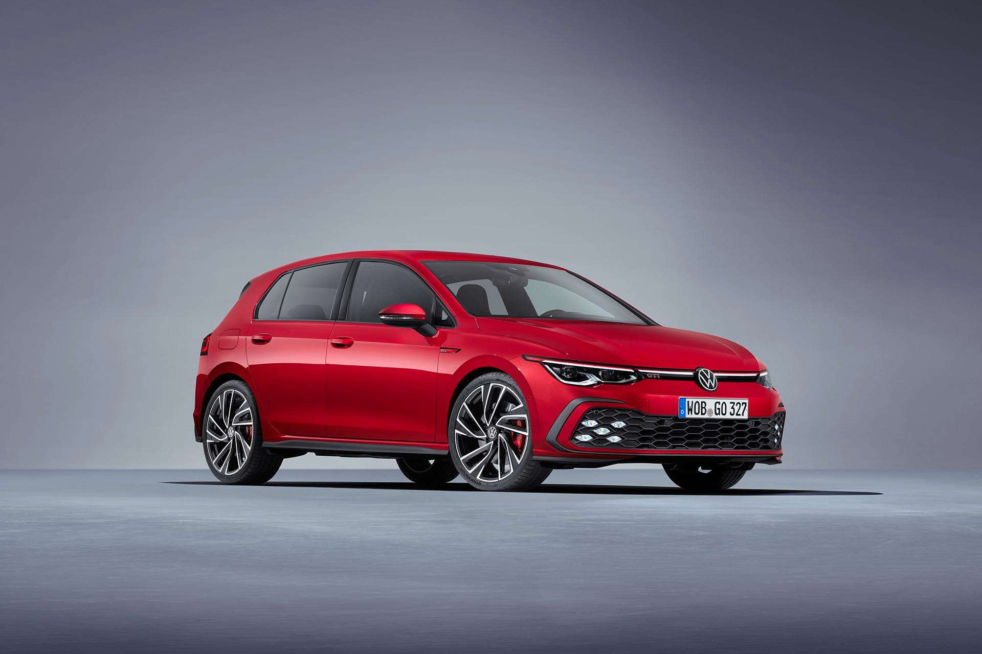 Mk8 VW GTI Red Front