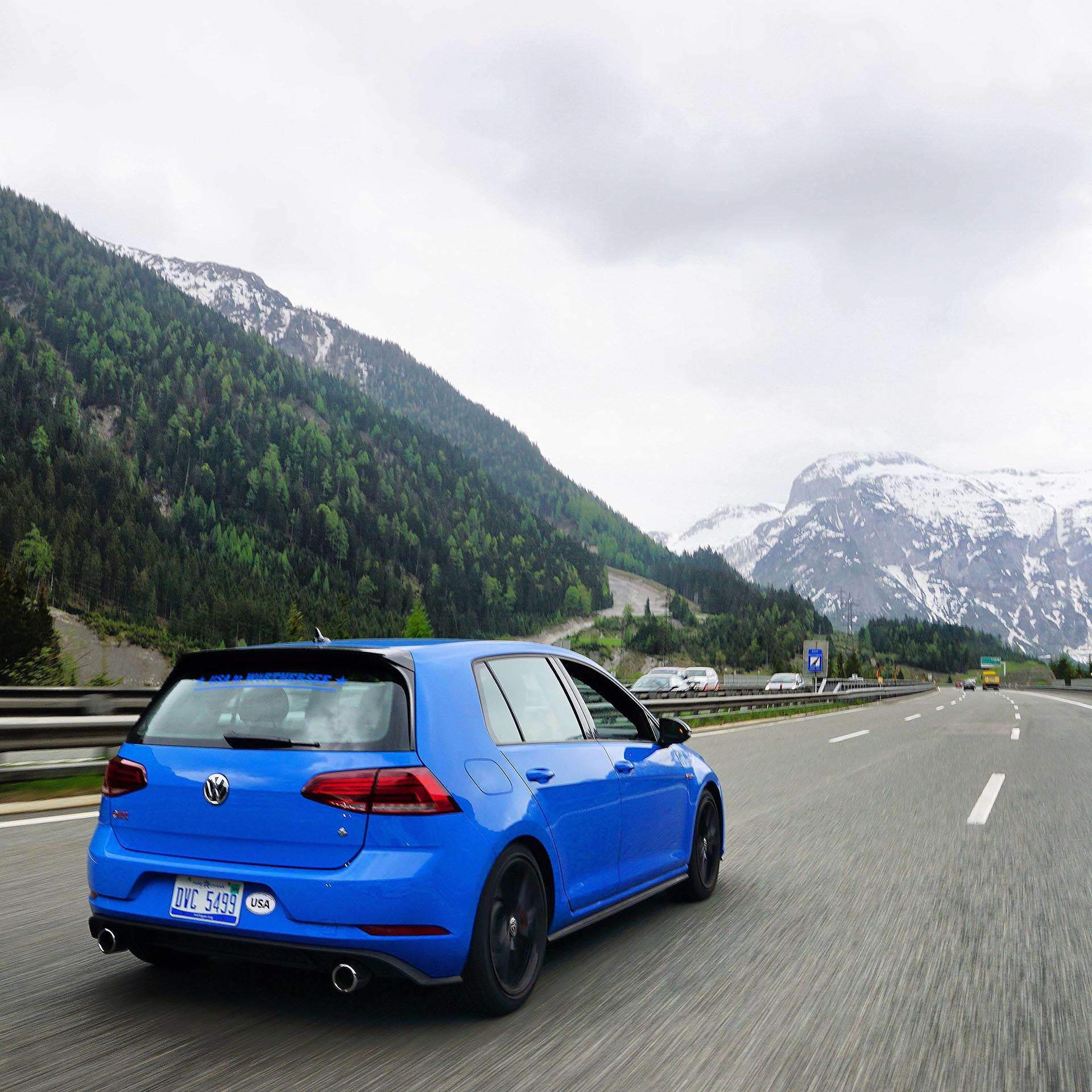 Rabbit Edition GTI in Alps Megan Closset
