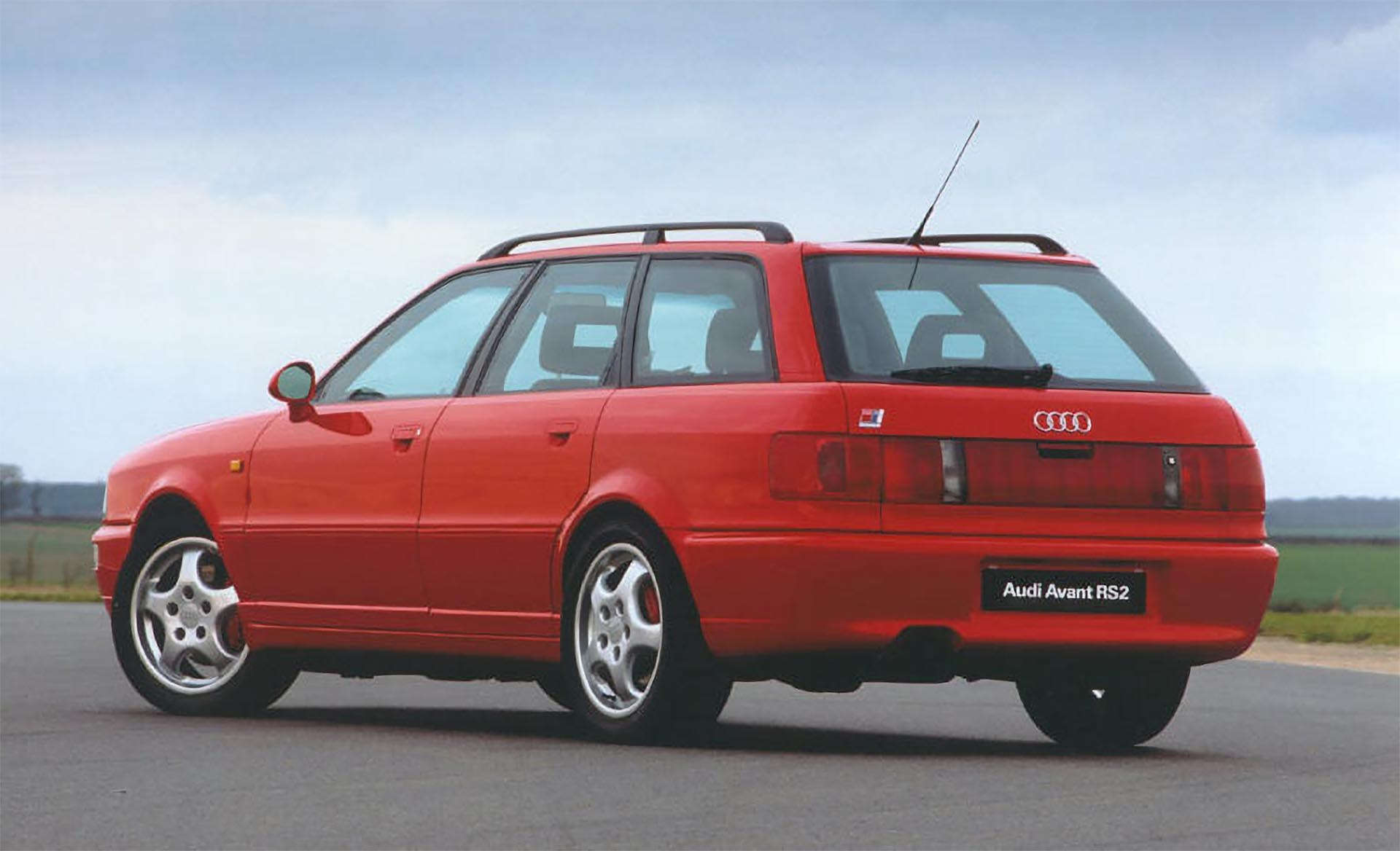 9-12_Audi RS2 Avant Rear
