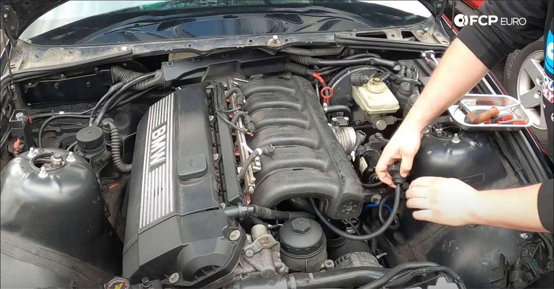 DIY BMW M50 Intake Manifold purge valve