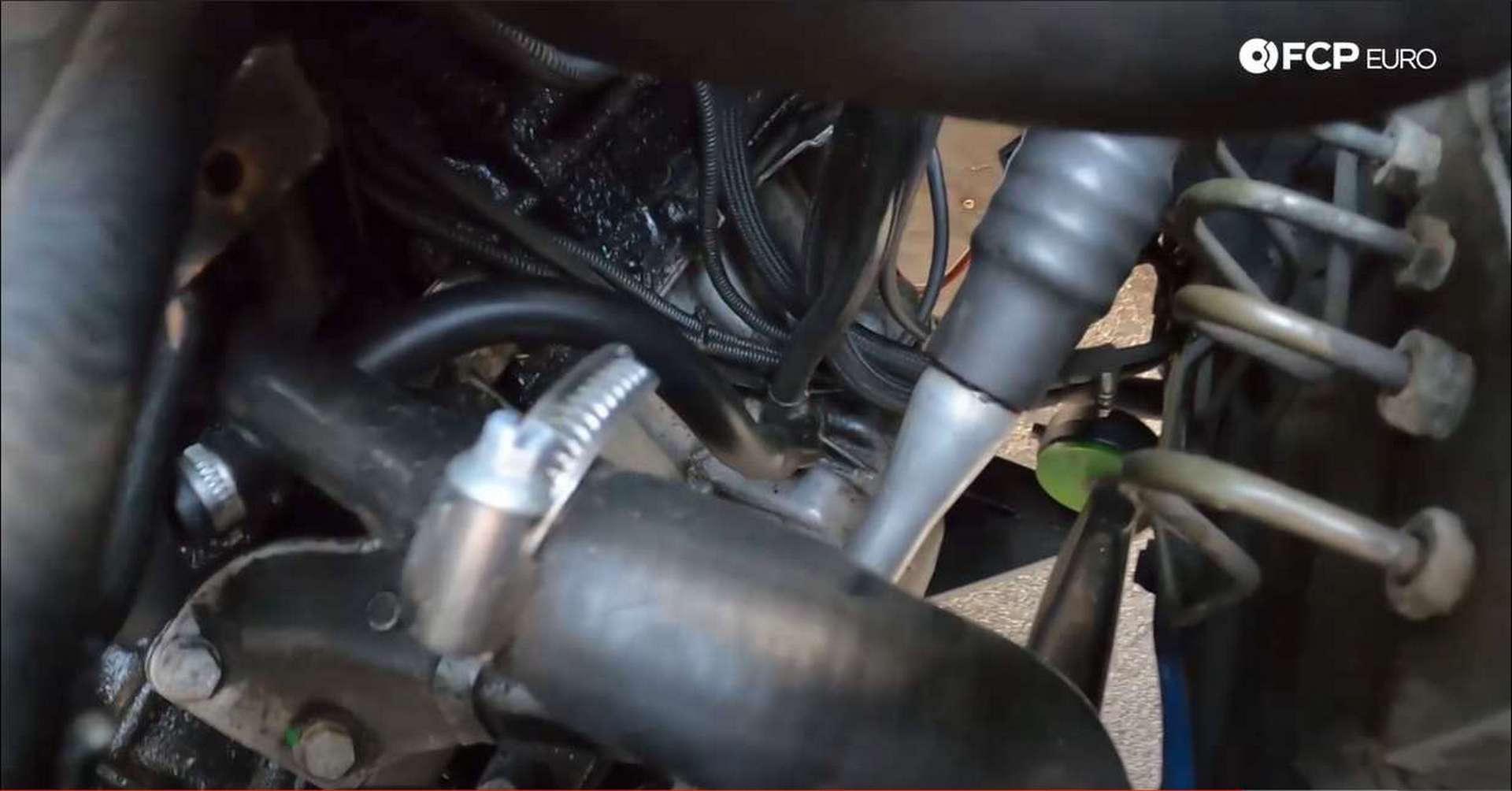 DIY BMW M50 Intake Manifold crankcase vent return line