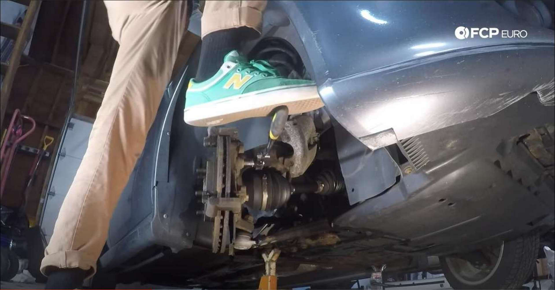 Volvo Front Brakes removing bolts