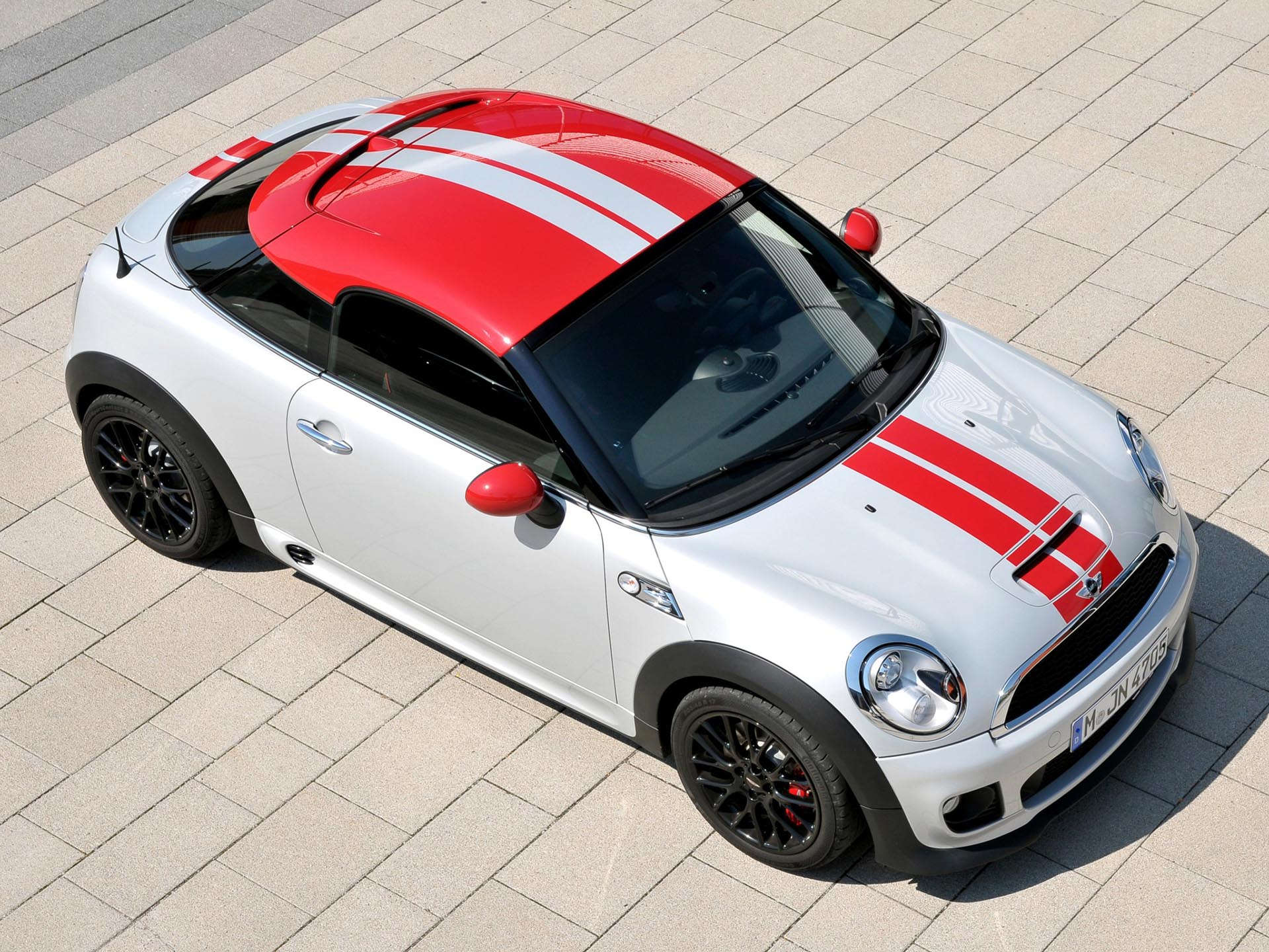 MINI Cooper John Cooper Works Coupe front