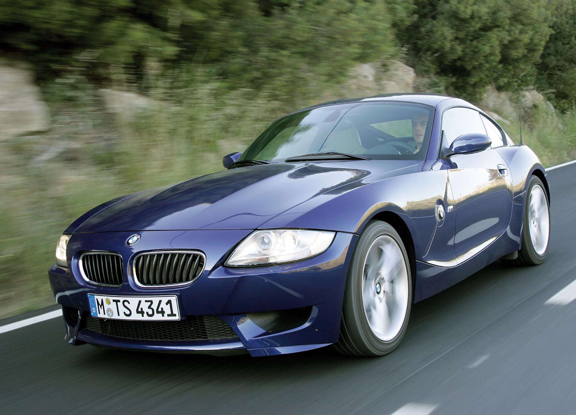 BMW Z4 M Coupe front
