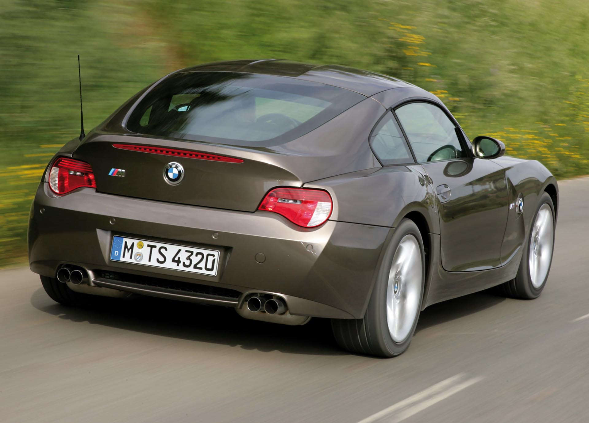 BMW Z4 M Coupe rear