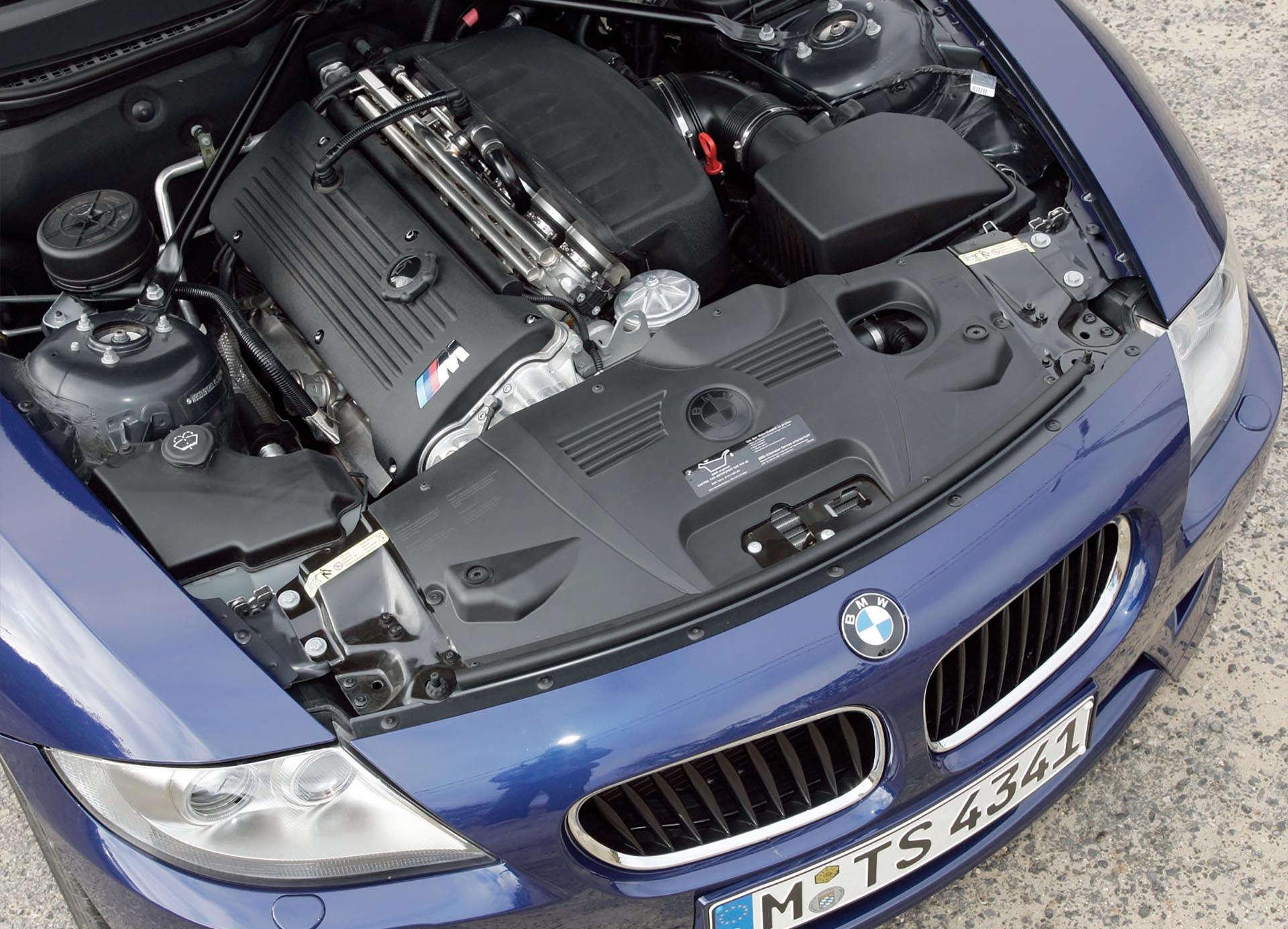 BMW Z4 M Coupe S54 engine