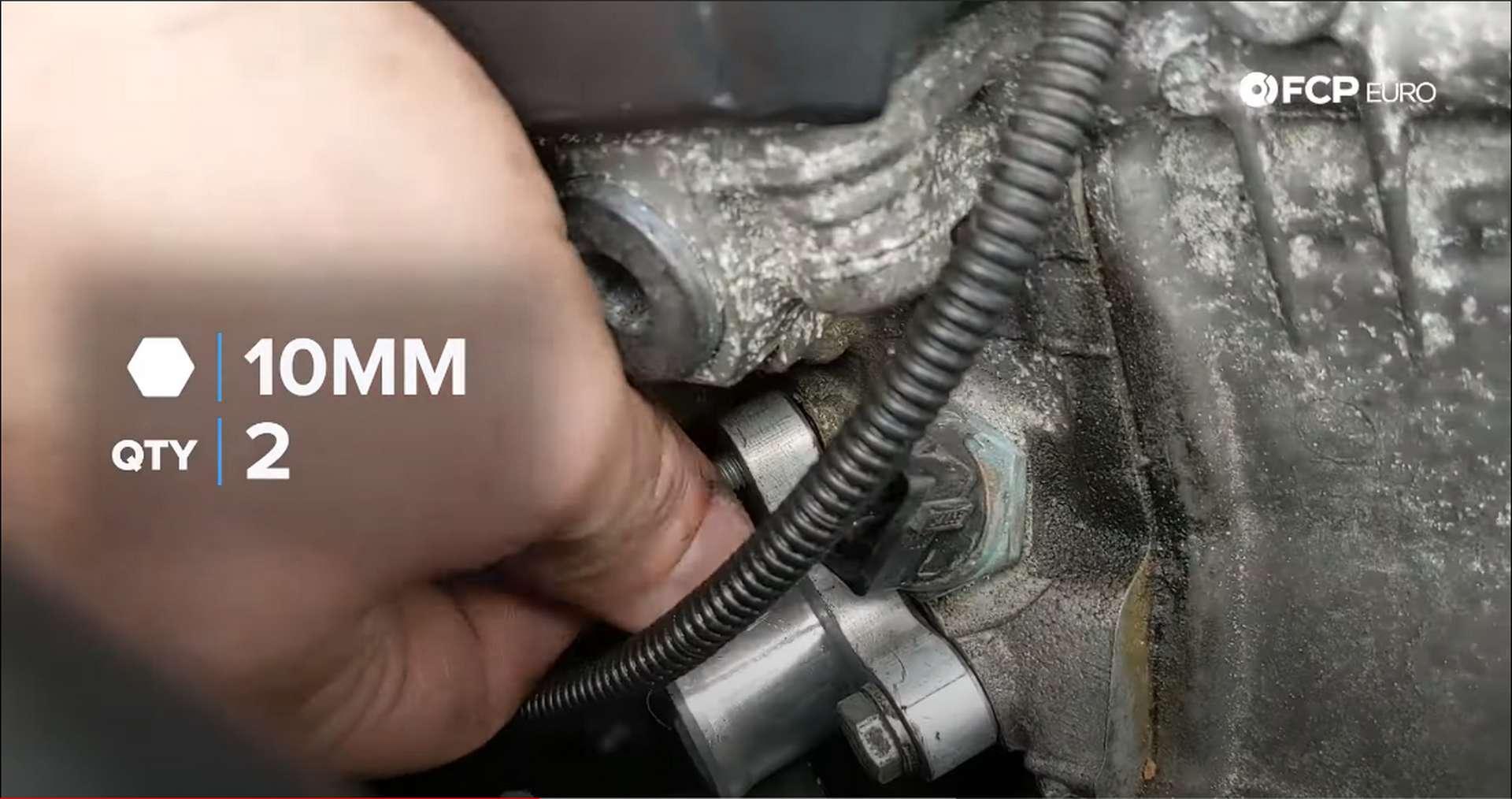 06_DIY_BMW_Coolant_Inlet-Flange-Install