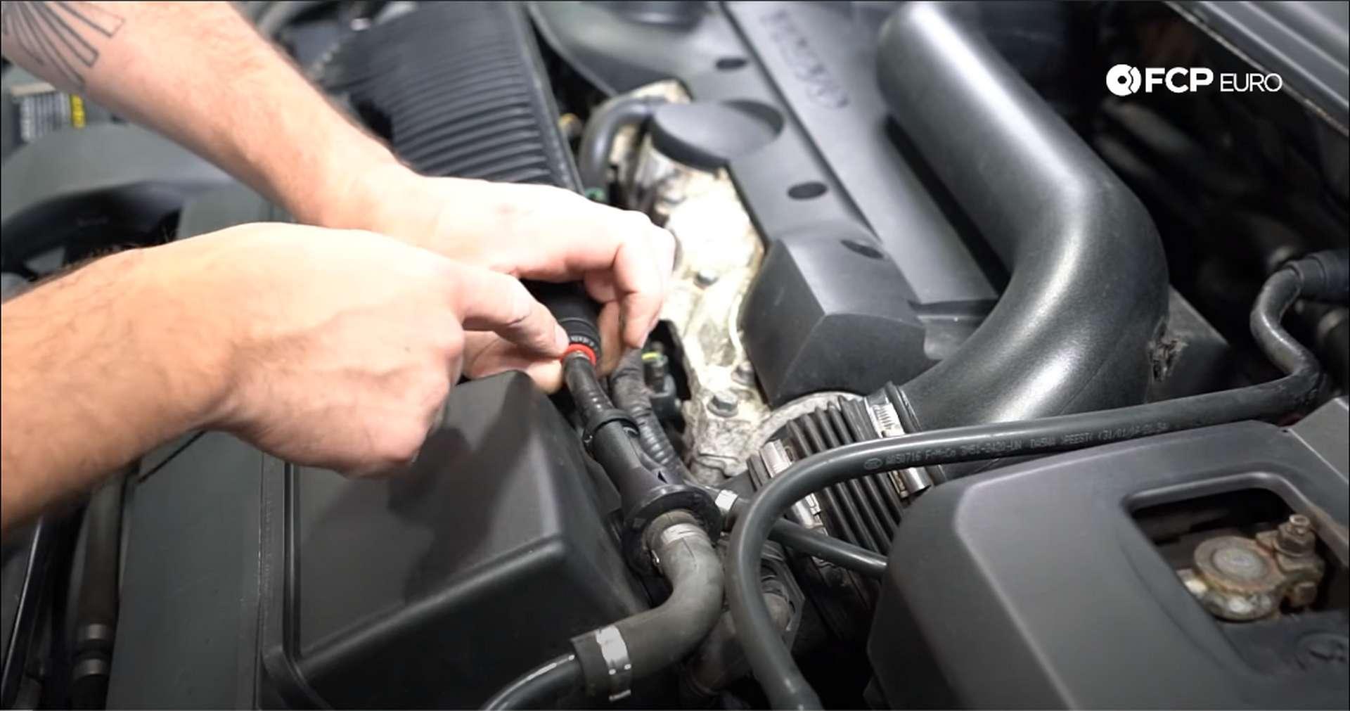 DIY Volvo PCV vacuum lines