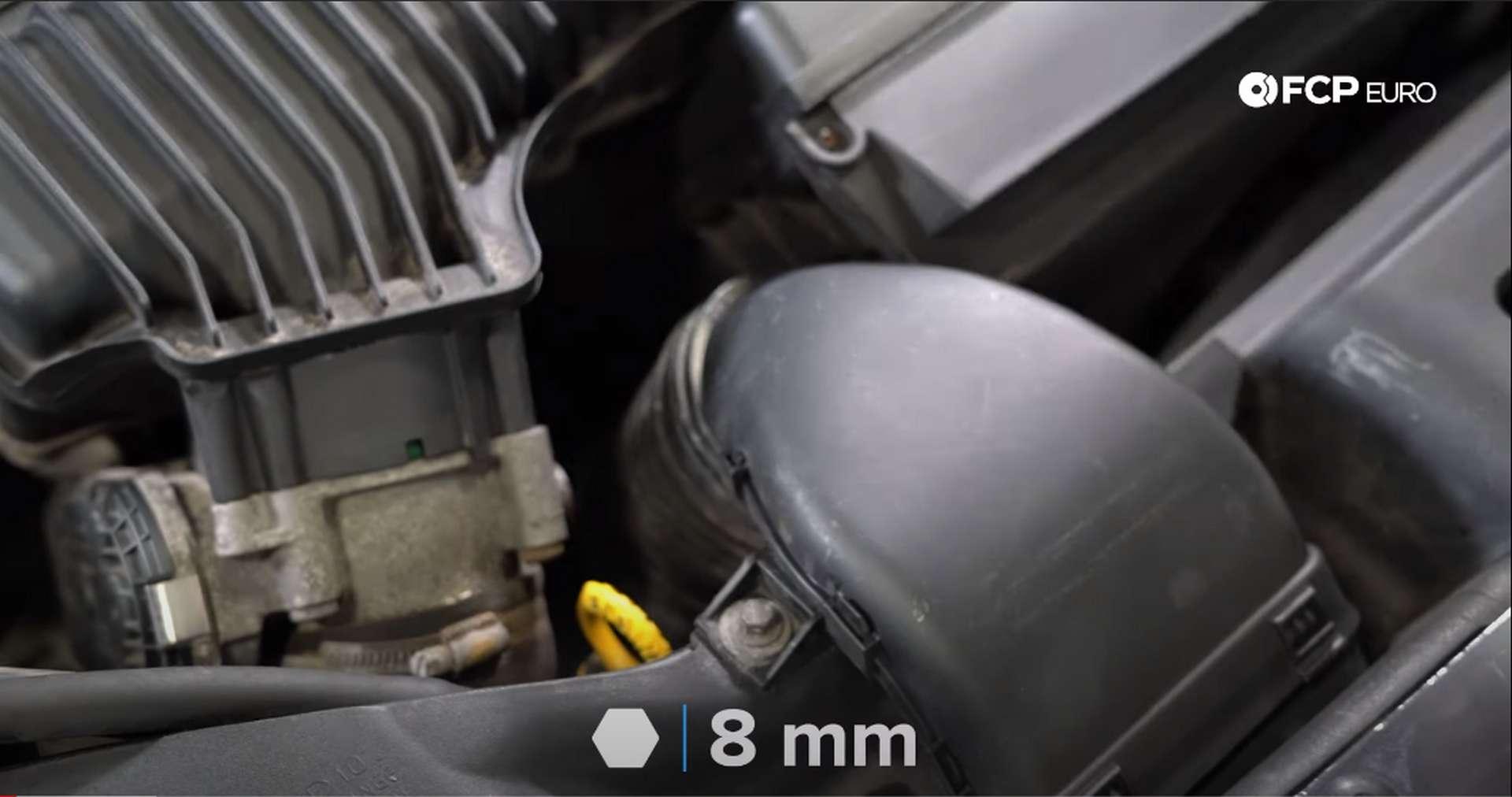 DIY Volvo PCV removing airbox snorkel