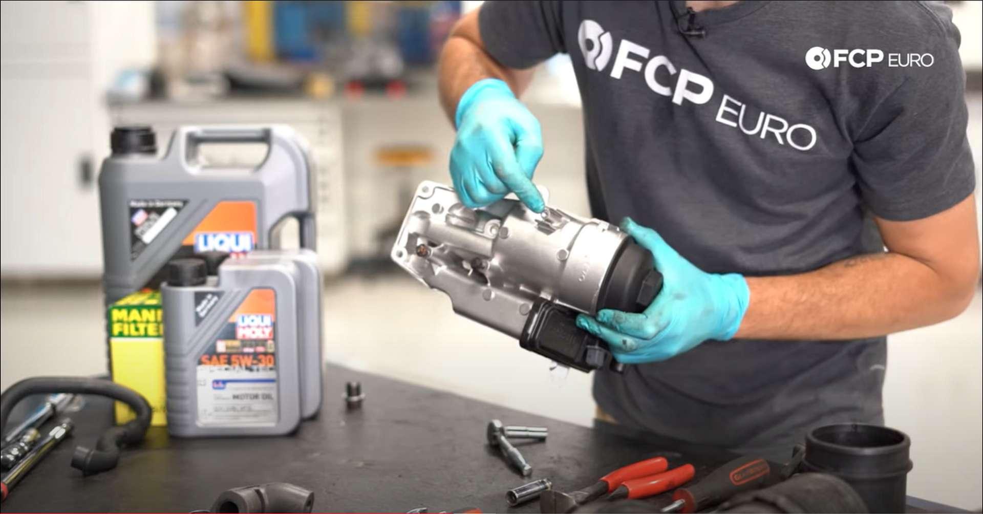 DIY Volvo PCV cutting bolt threads