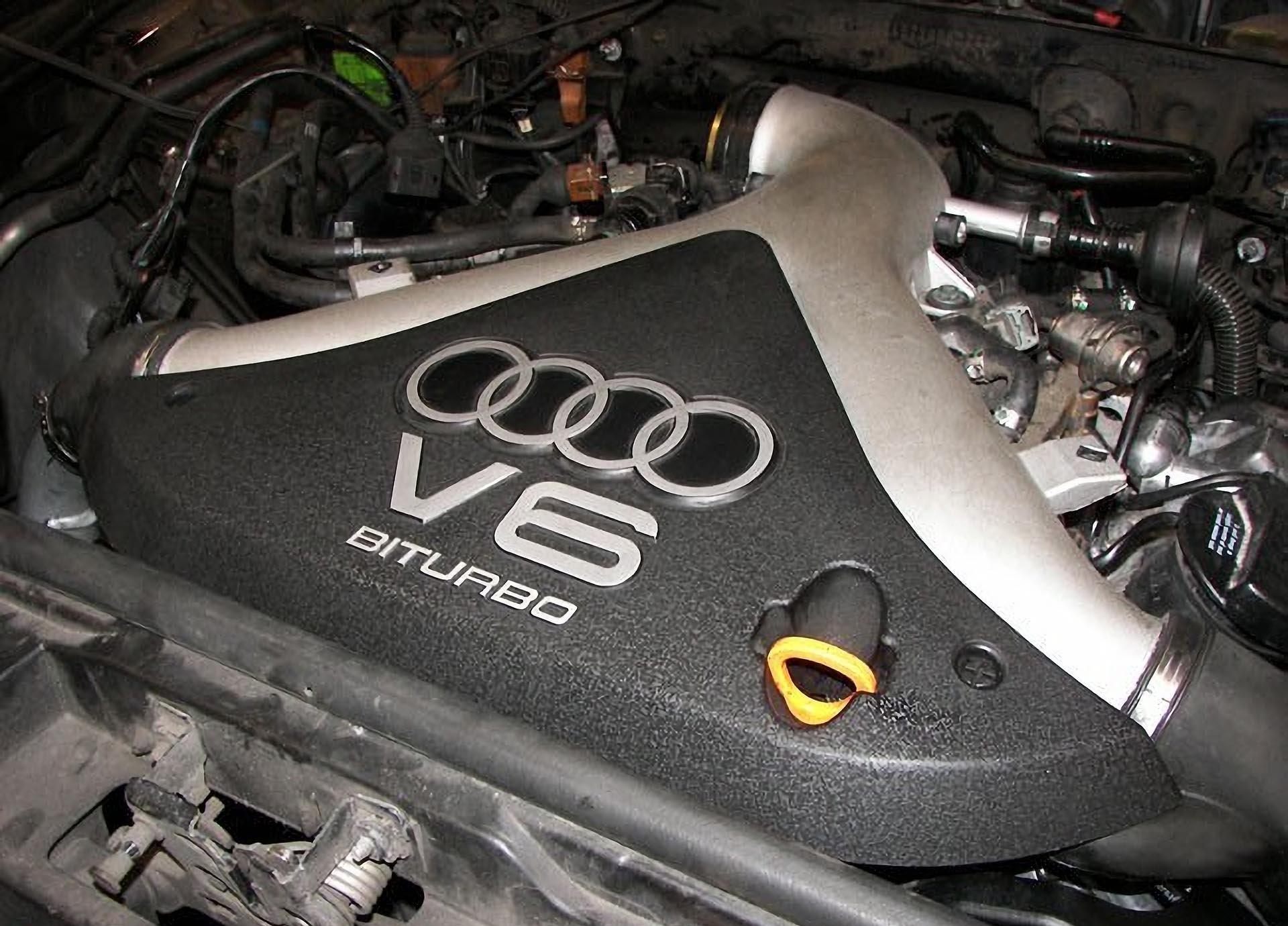 02_B5 Audi S4 2.7t engine bay