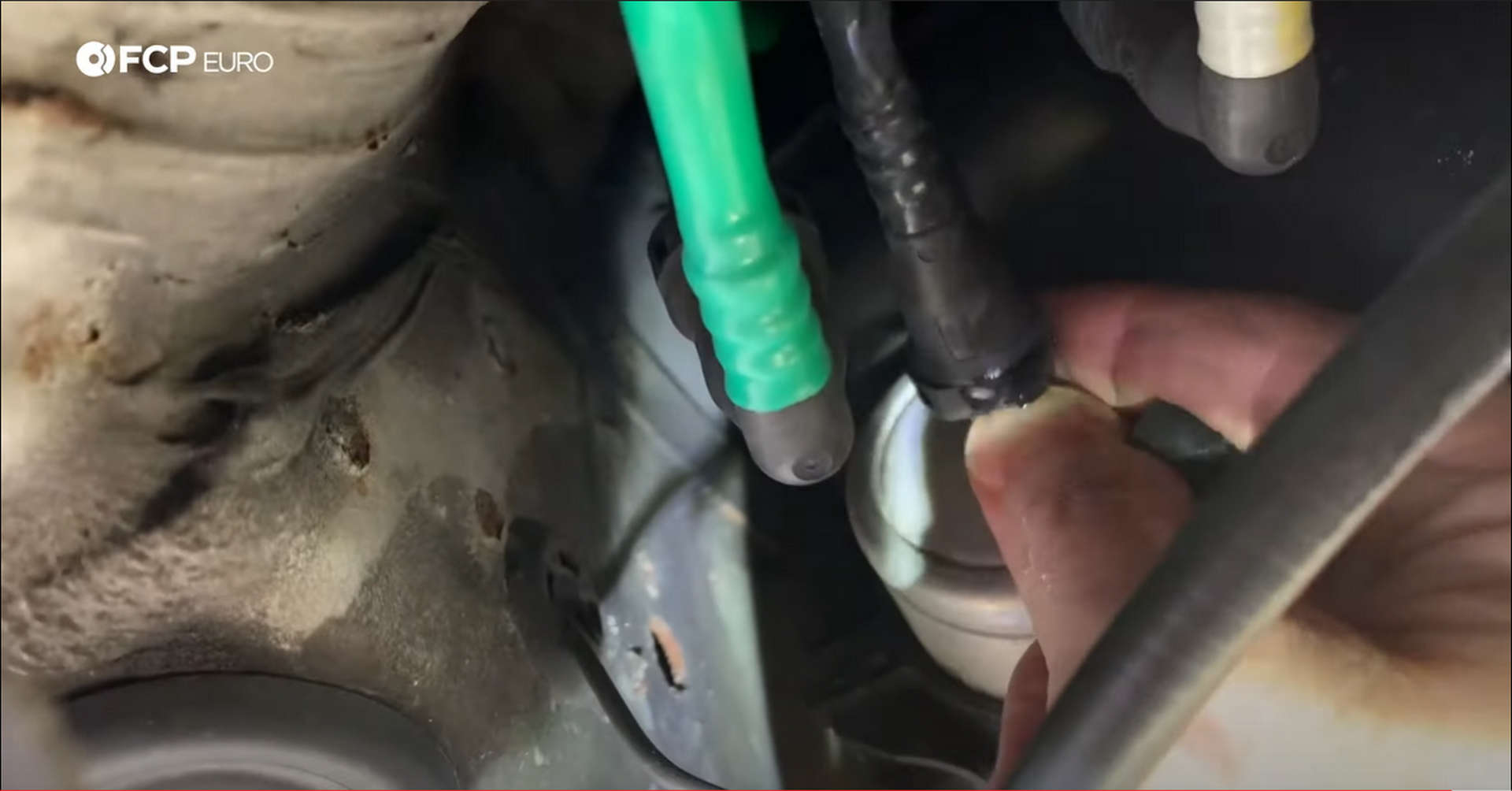 DIY VW GTI Fuel Pump removing the fuel filter hoses