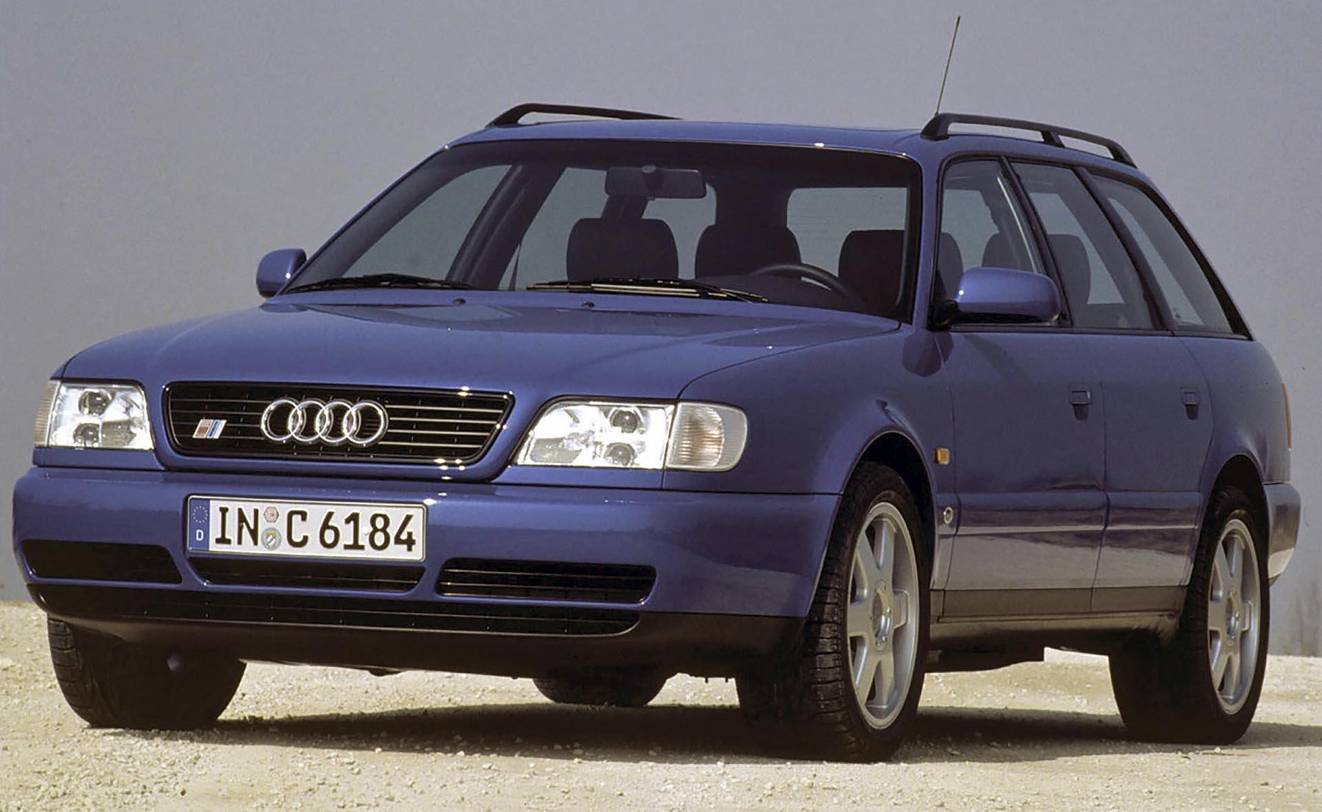 08_Audi C4 S6 2.2 turbo Quattro avant front