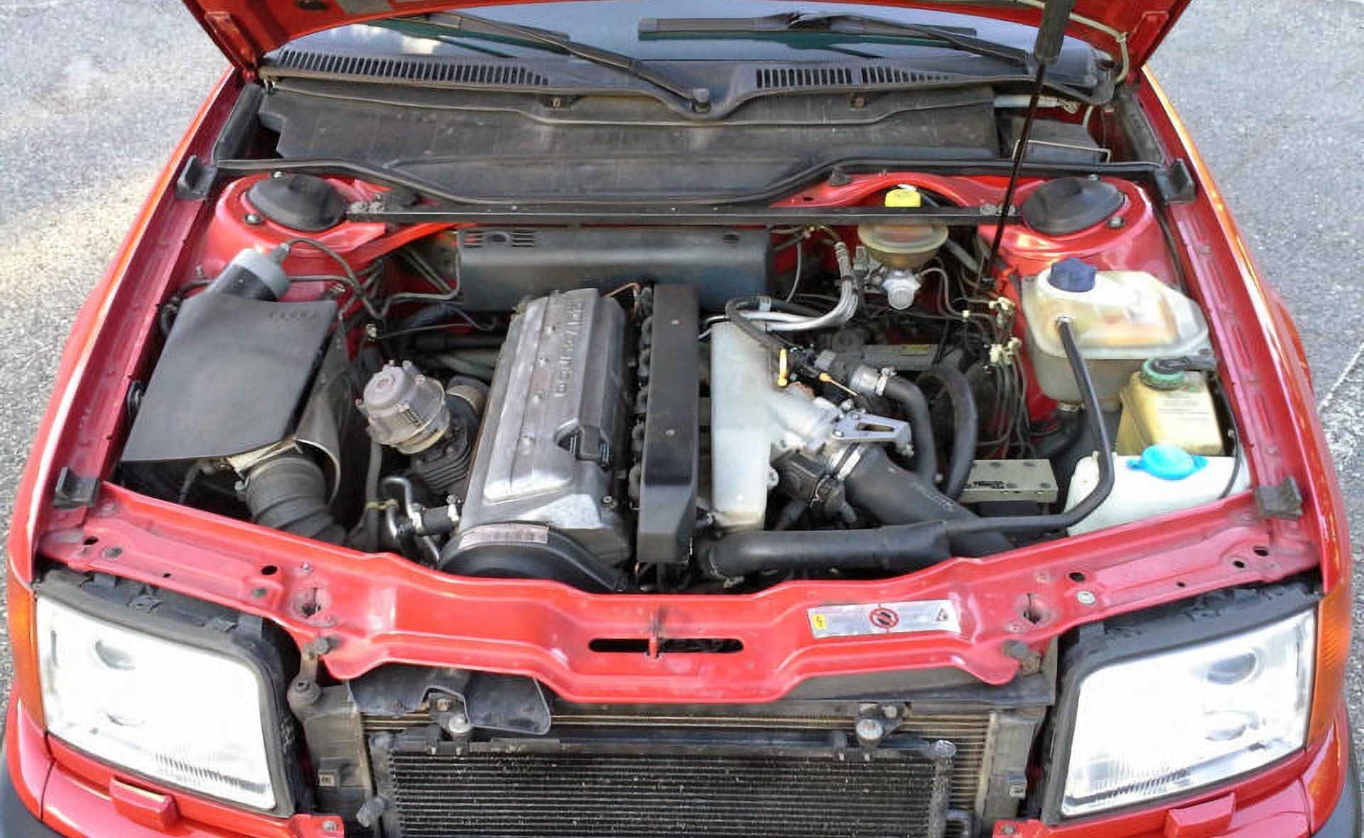 09_Audi C4 S6 2.2 turbo Quattro AAN engine