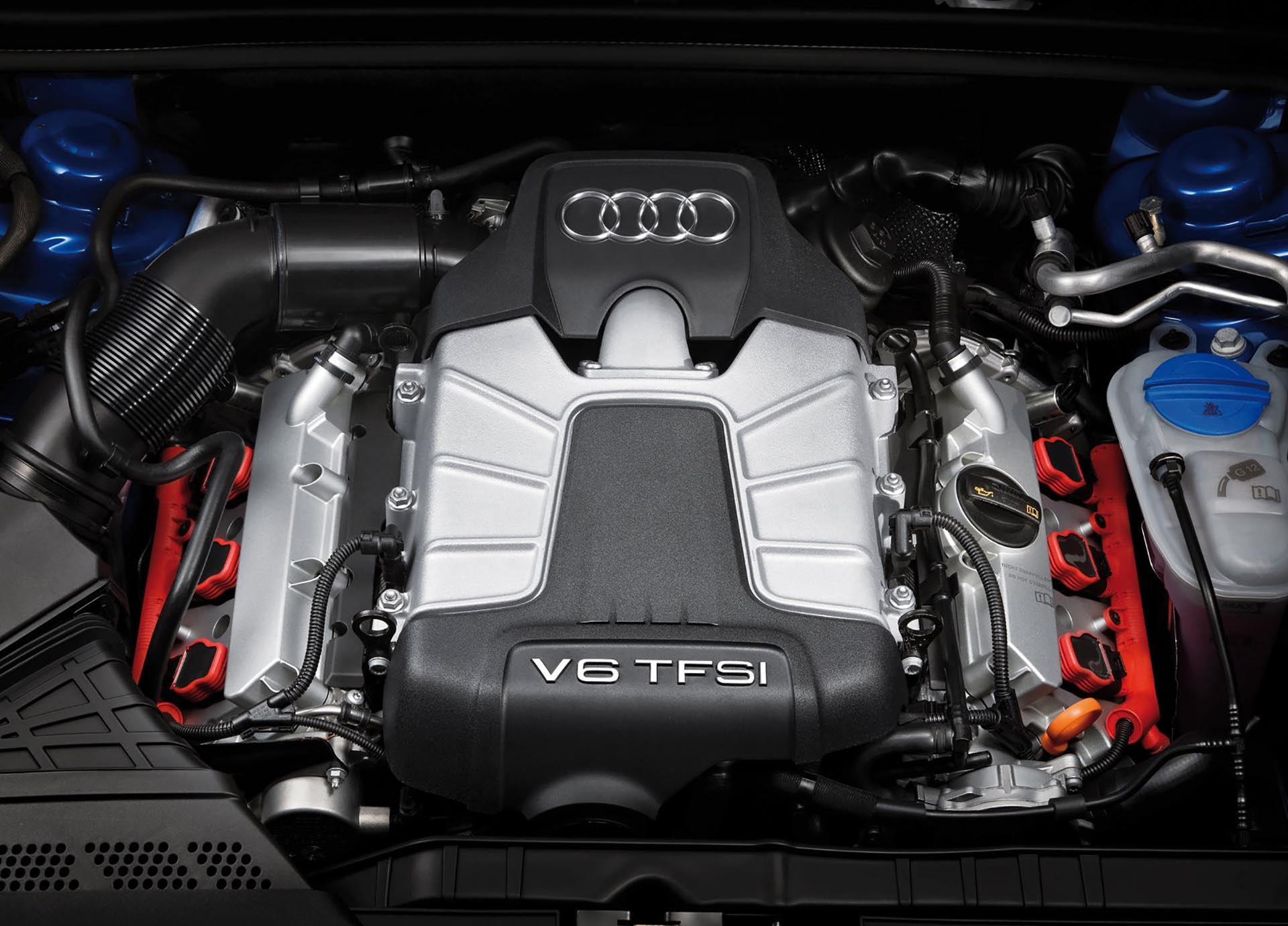 01_B8 Audi S4 3.0t TFSI engine