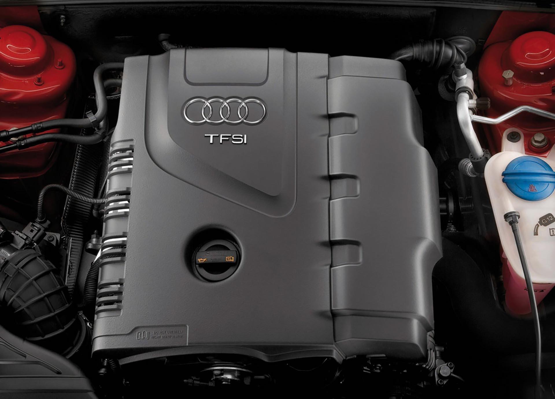 02_B8 Audi A4 2.0t TFSI engine