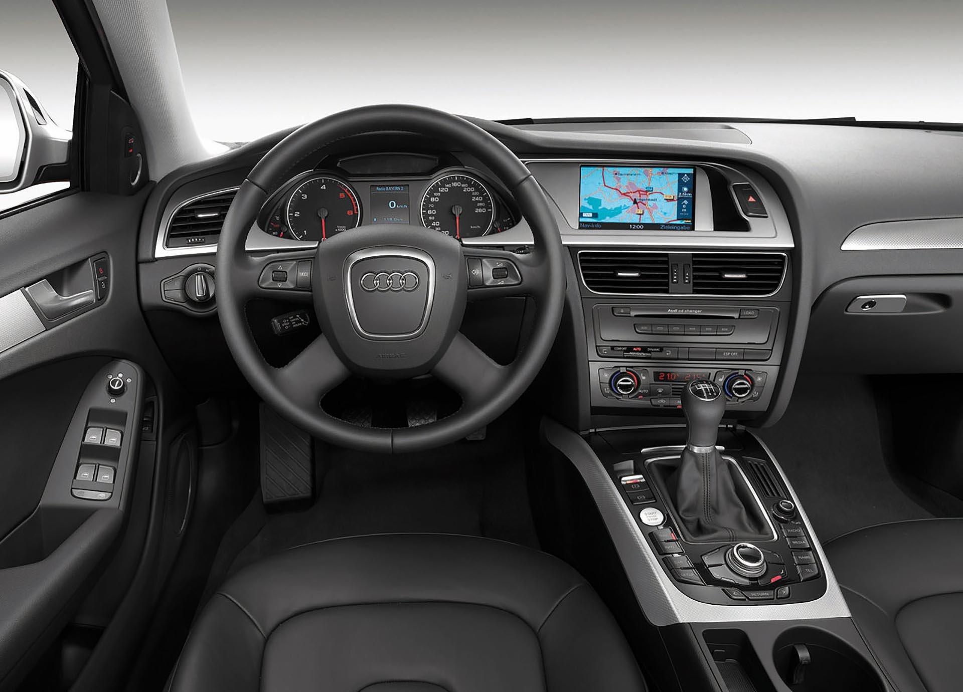 08_B8 Audi A4 Interior silver trim
