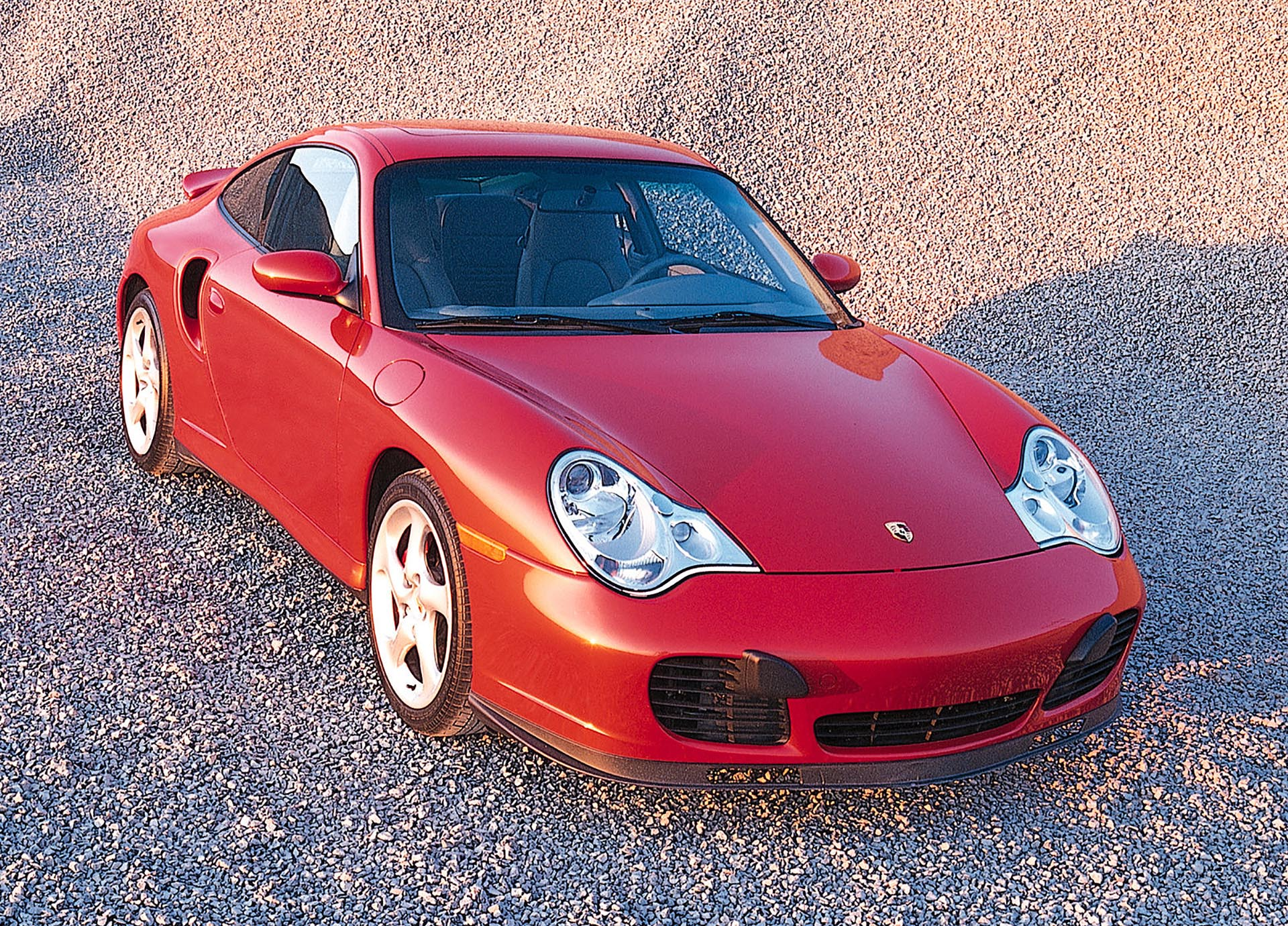 05_Porsche 996 911 Turbo front