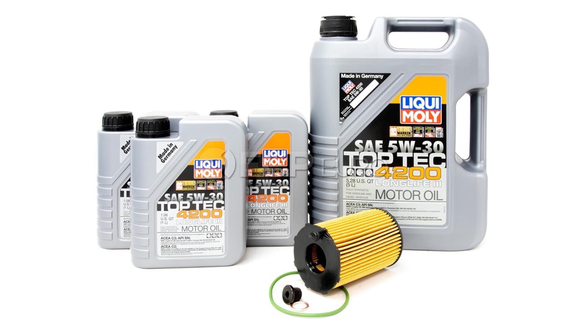 Porsche Cayenne LIQUI MOLY oil