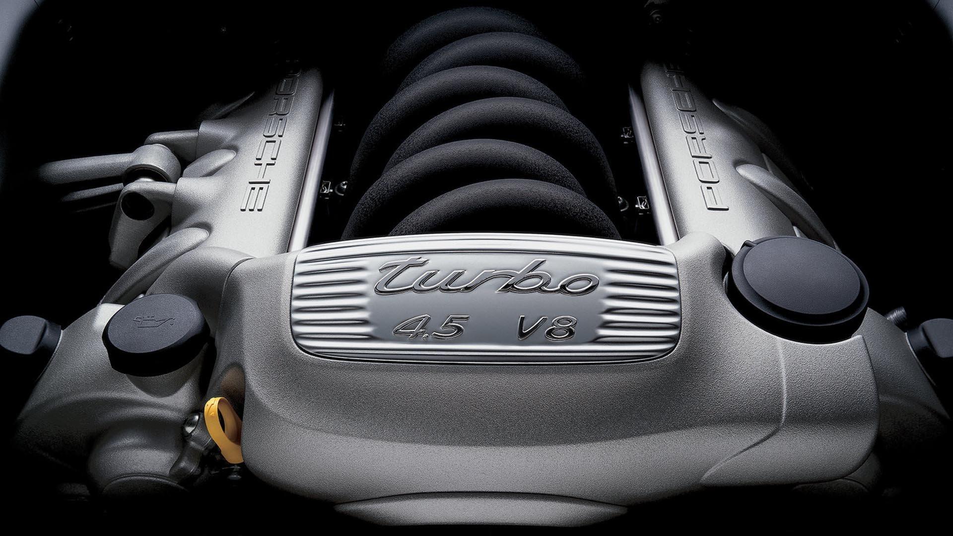 Porsche Cayenne Engine Bay 4.5 V8
