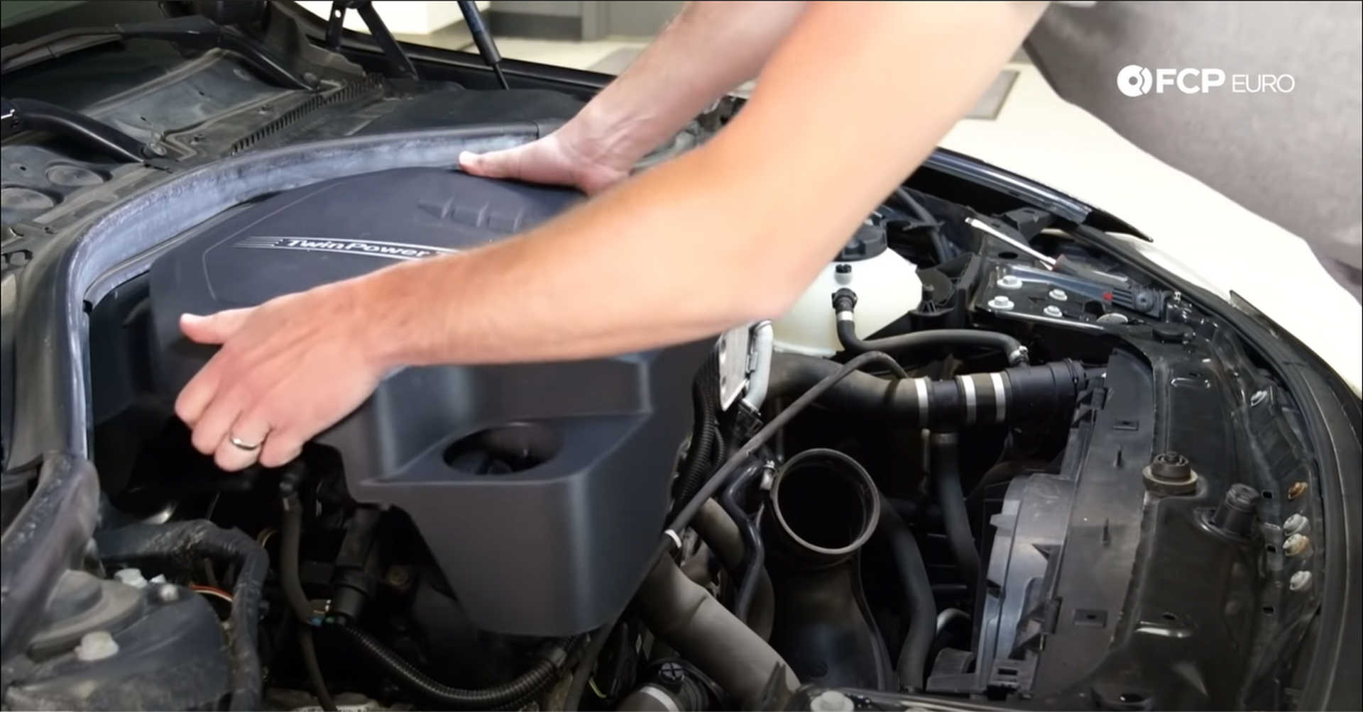 DIY BMW N20 Timing Chain removing the engine cover