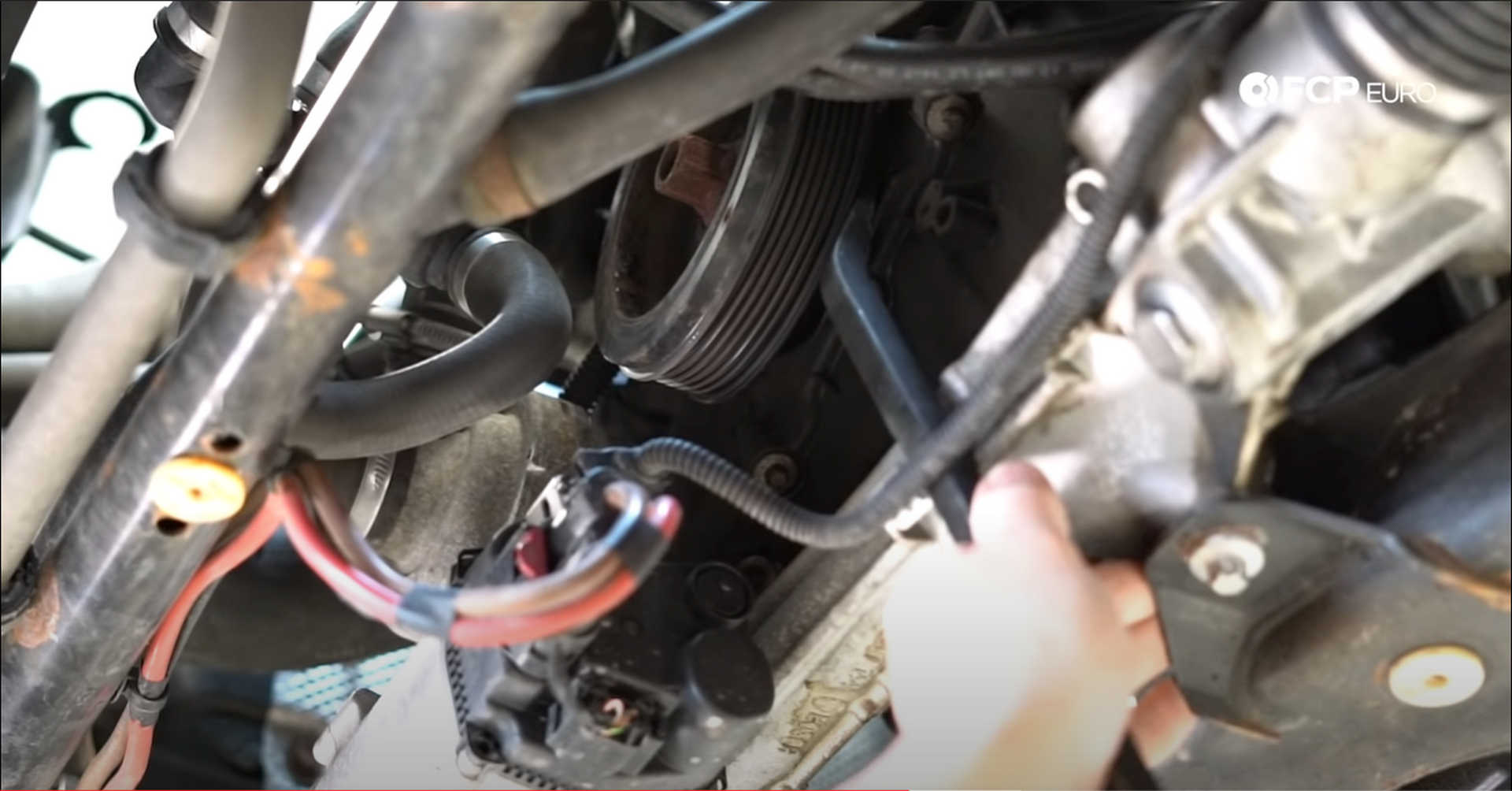 DIY BMW N20 Timing Chain removing the vibration dampener