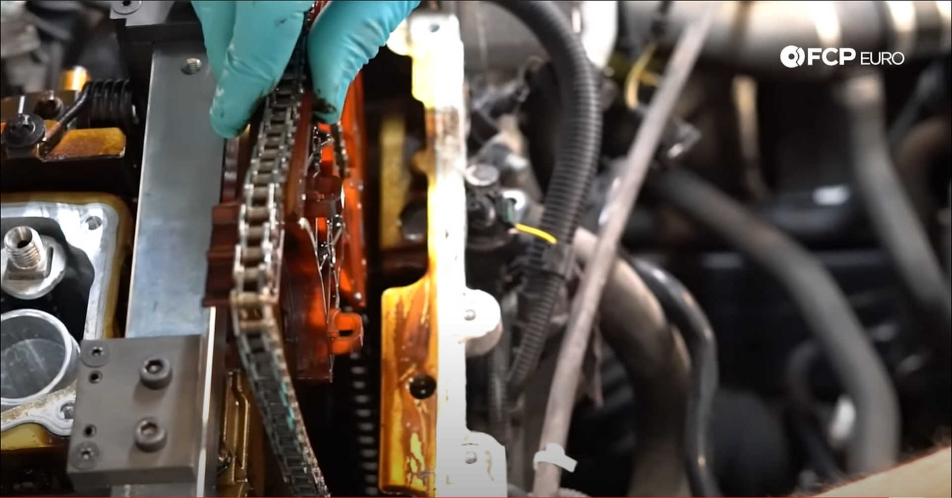DIY BMW N20 Timing Chain removing the timing chain assembly