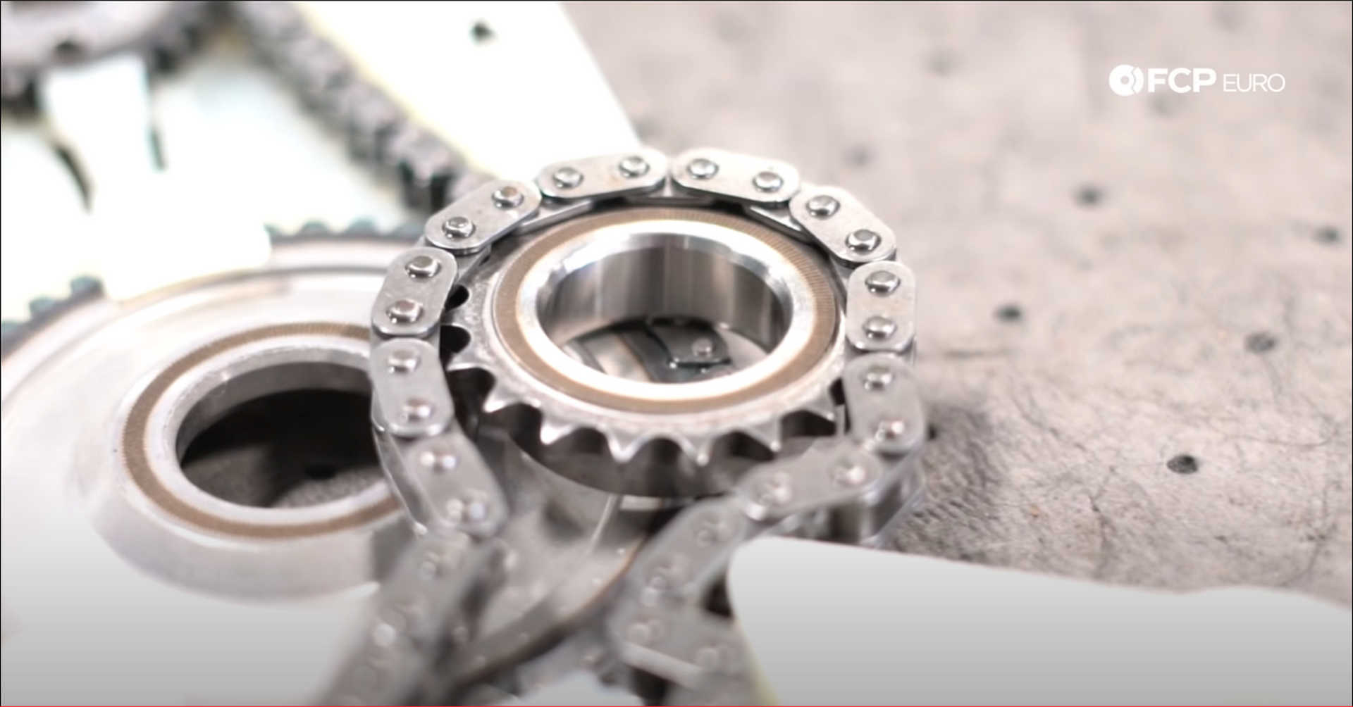 DIY BMW N20 Timing Chain new timing chain sprocket