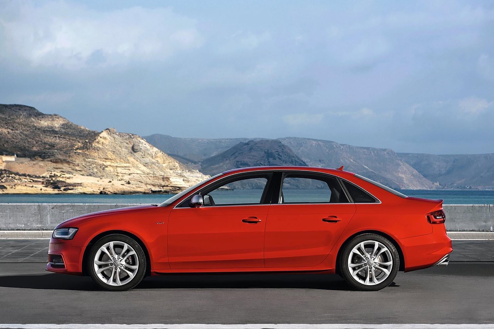 Audi B8 S4/S5 LOWERED FRONT THREE QUARTER