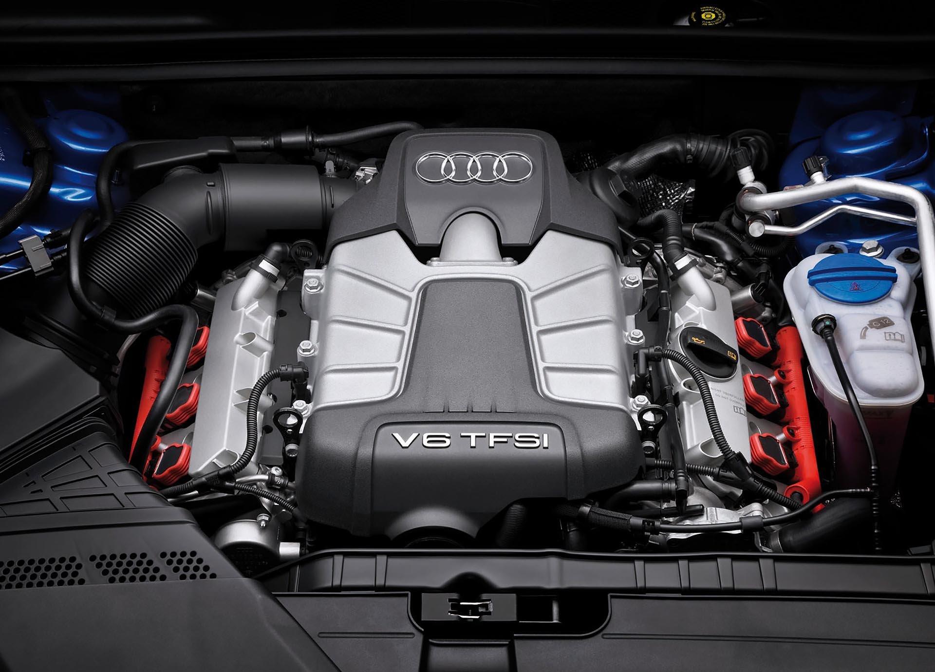 Audi S4 S5 3.0t TFSI engine bay