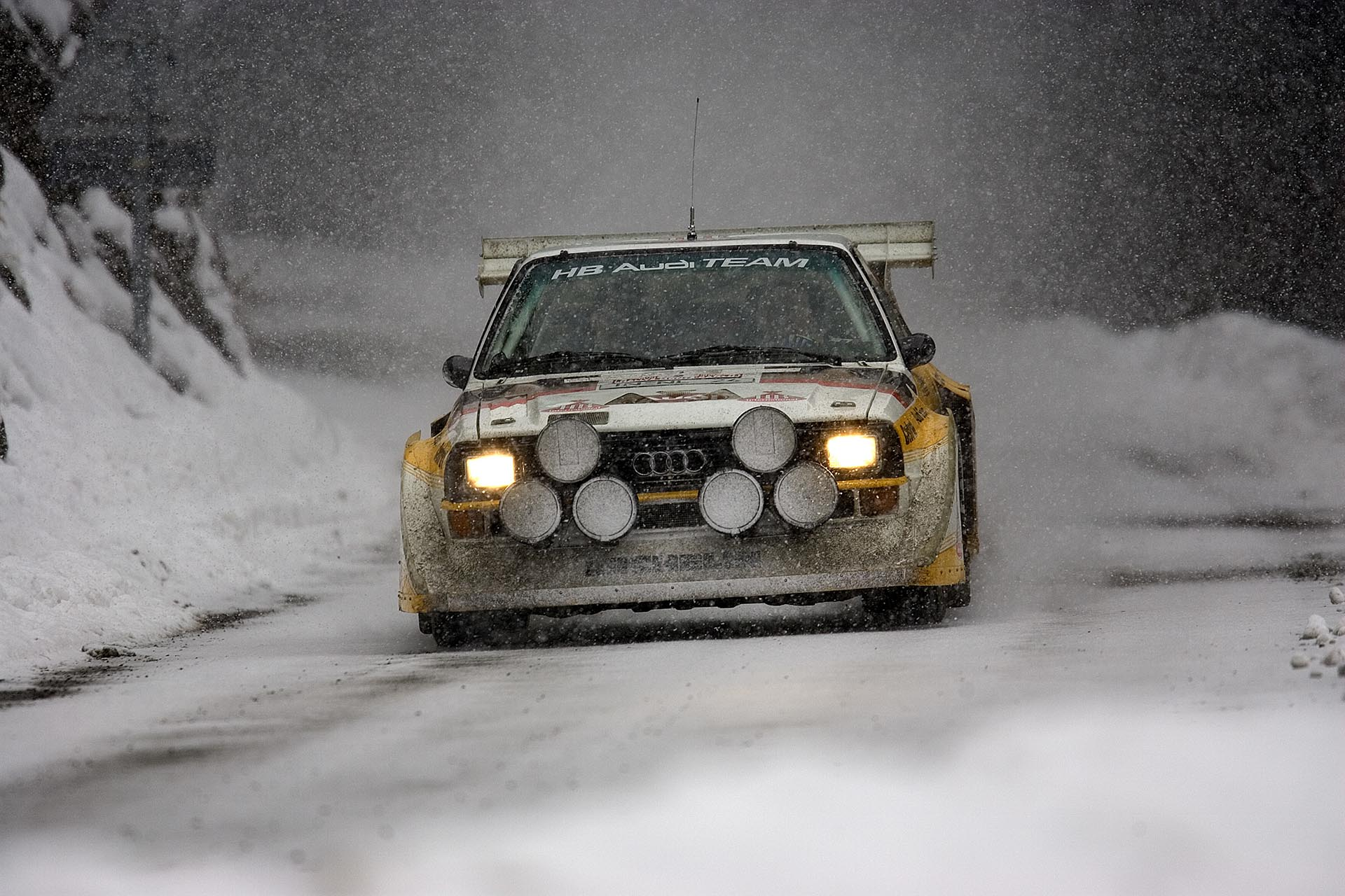 02_Audi S1 Quattro Group B Rally car front