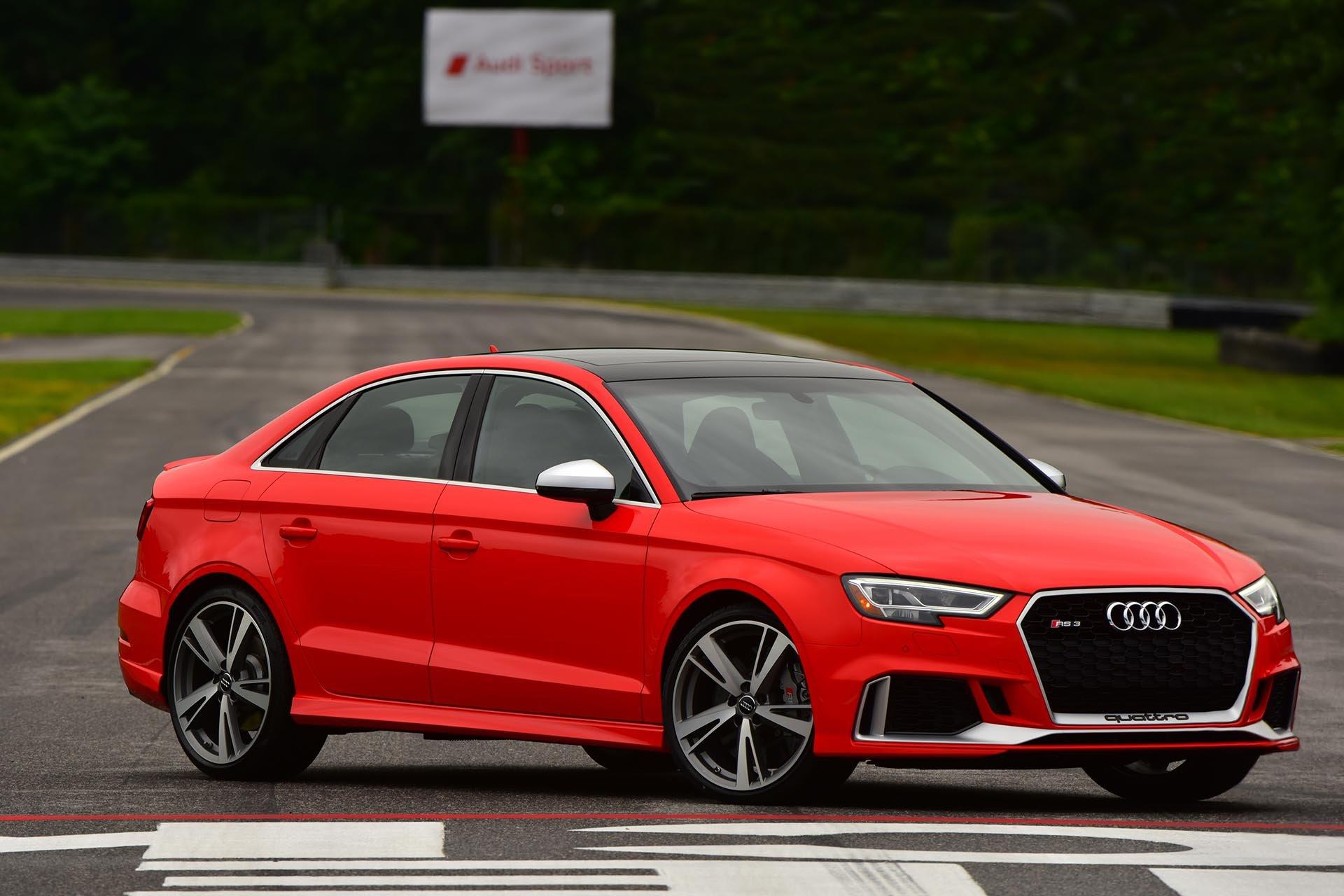06_Audi RS3 2.5t Quattro front