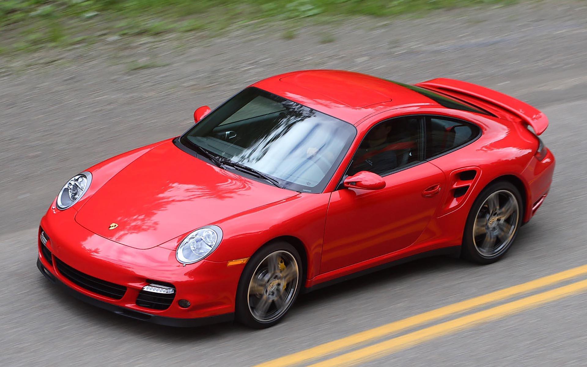 13_Porsche 997 911 Turbo front