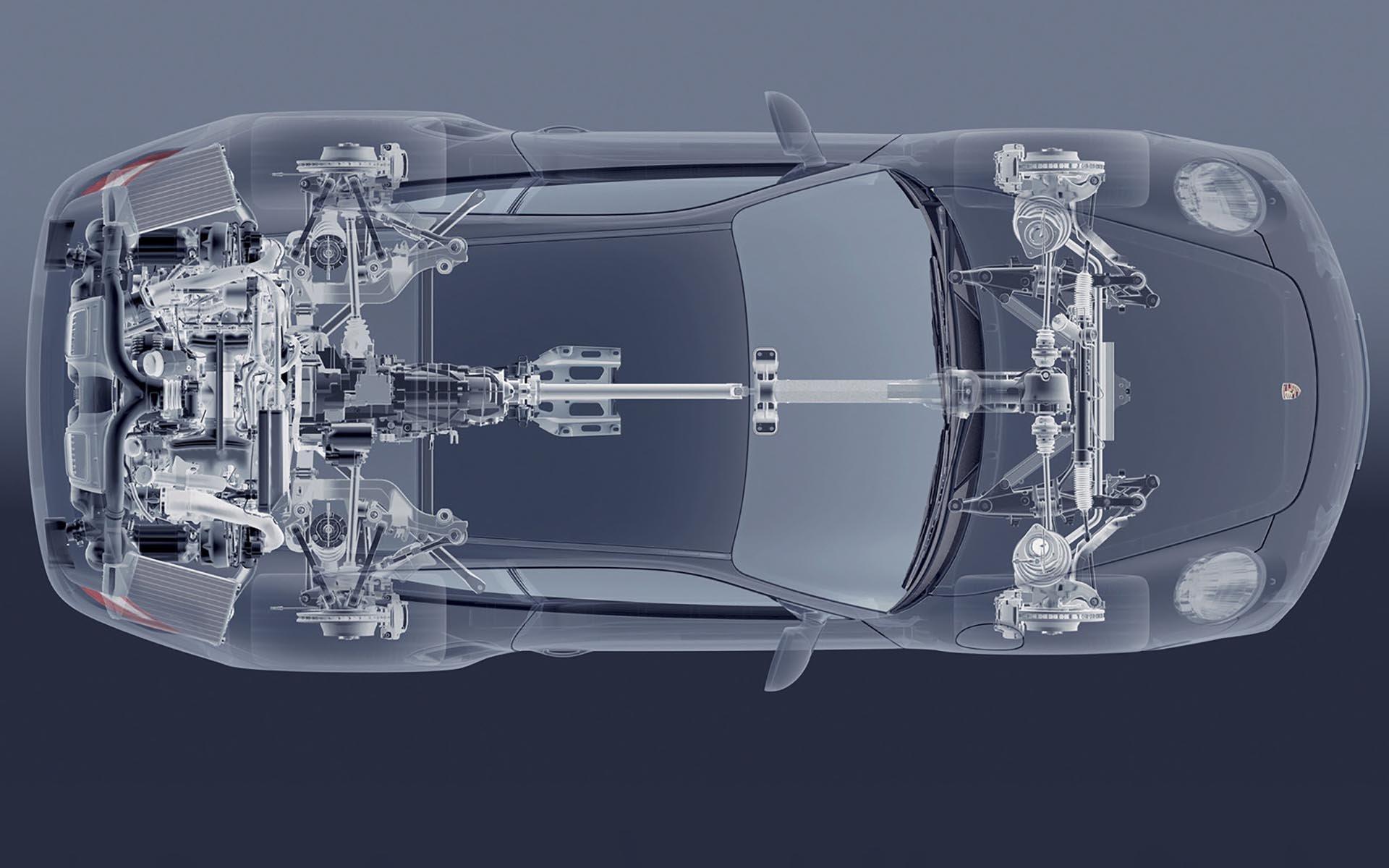 14_Porsche 911 Turbo Porsche Traction Management Diagram