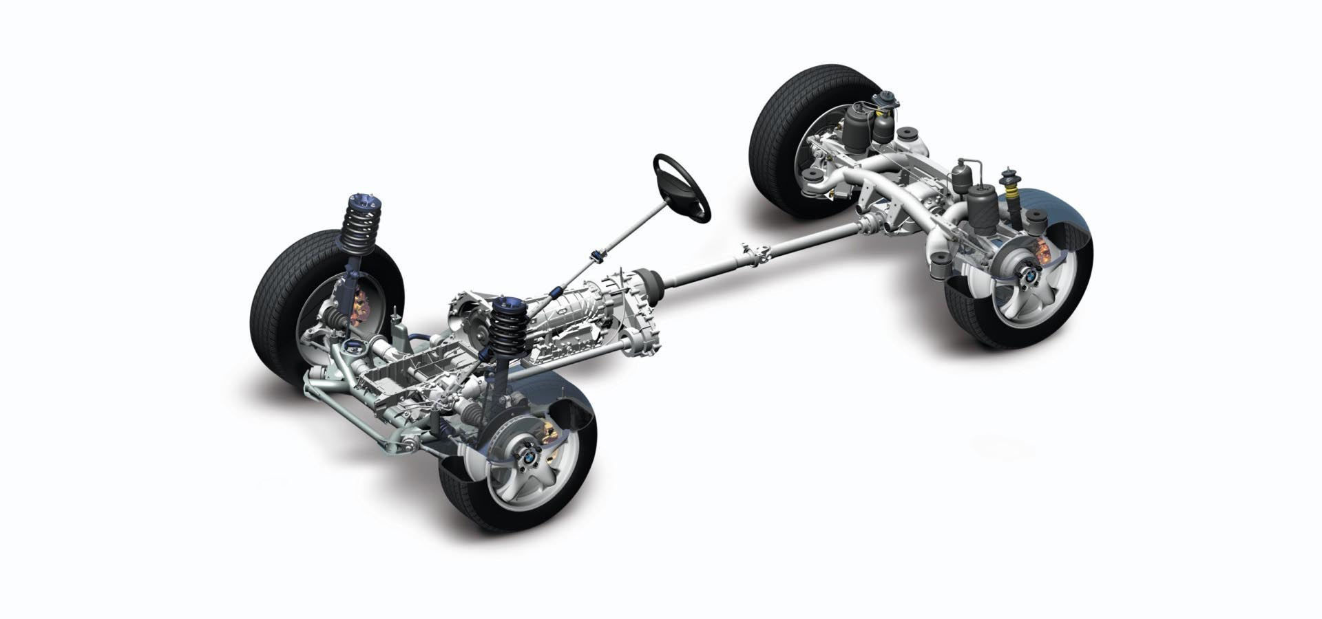 16_BMW xDrive AWD driveline diagram