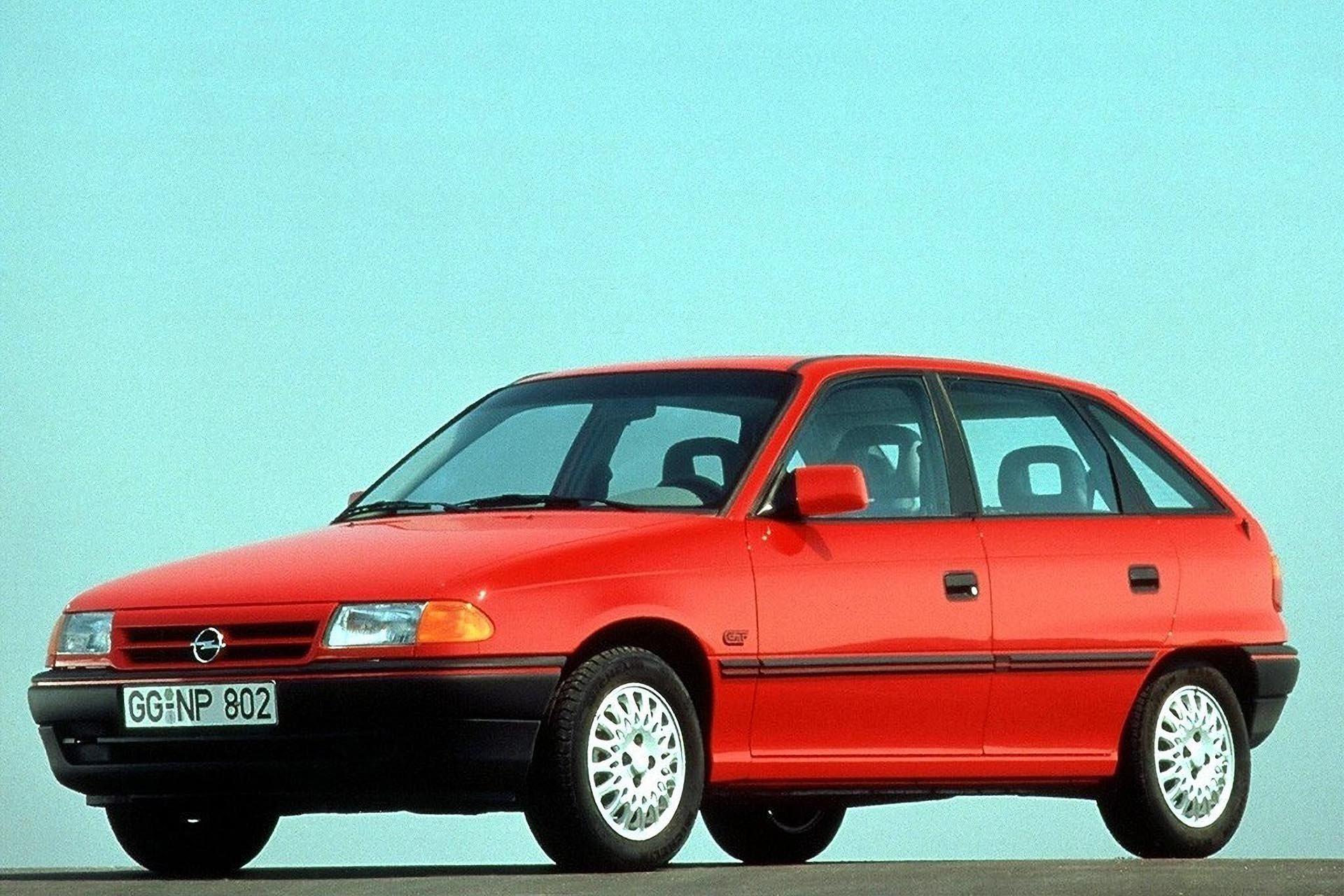 1991 OPEL Astra hatchback