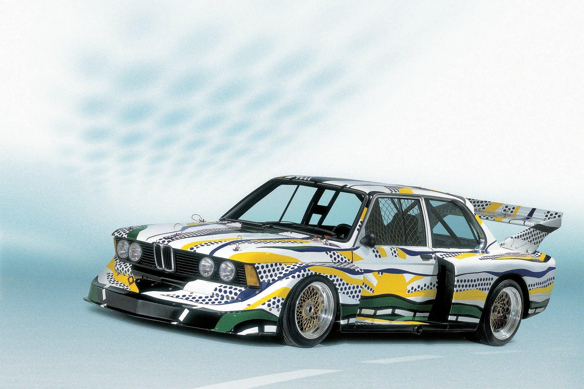 BMW Group 5 320 Turbo Roy Lichtenstein Art car