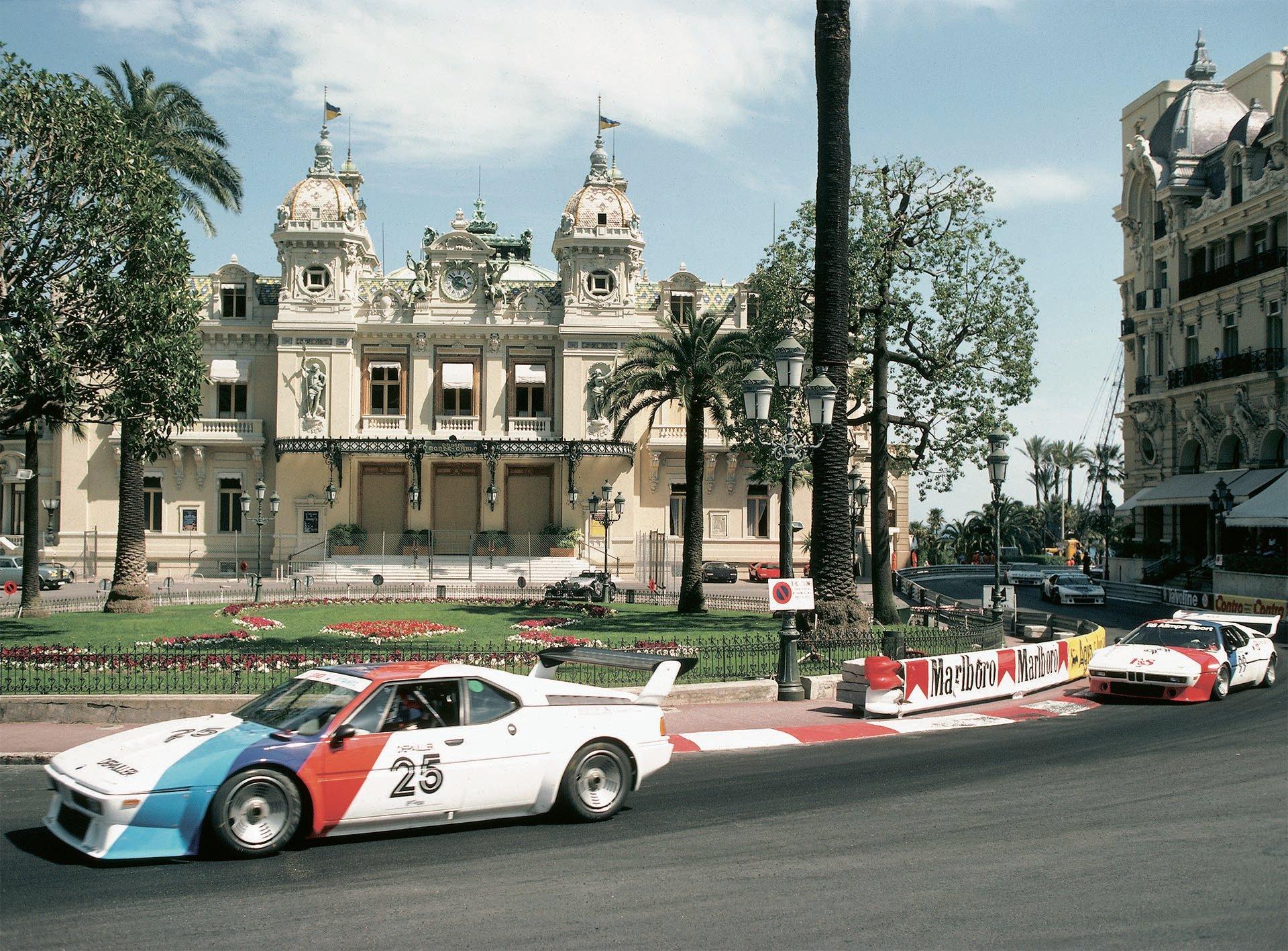 04_BMW M1 Procar at Monaco Grand Prix