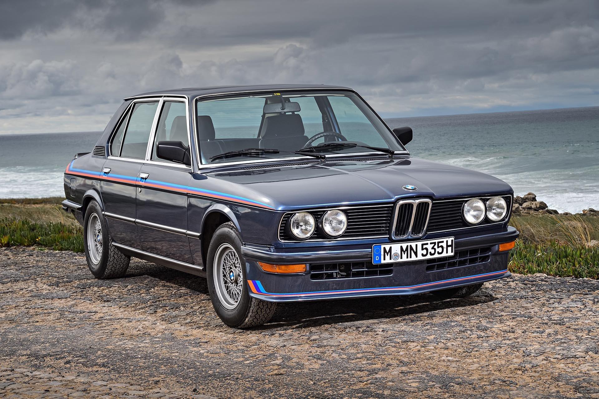 05_BMW M535i front