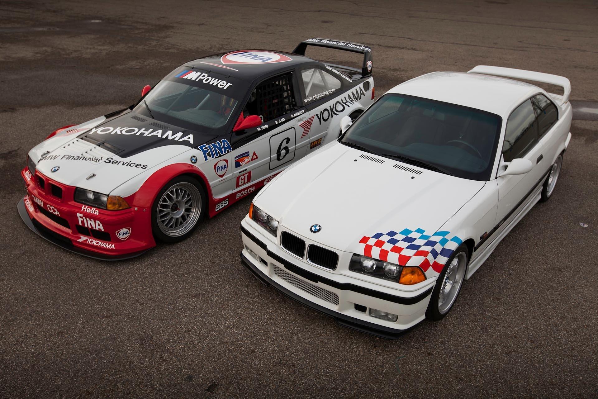 09_E36 M3 lightweight and PTG IMSA GT M3